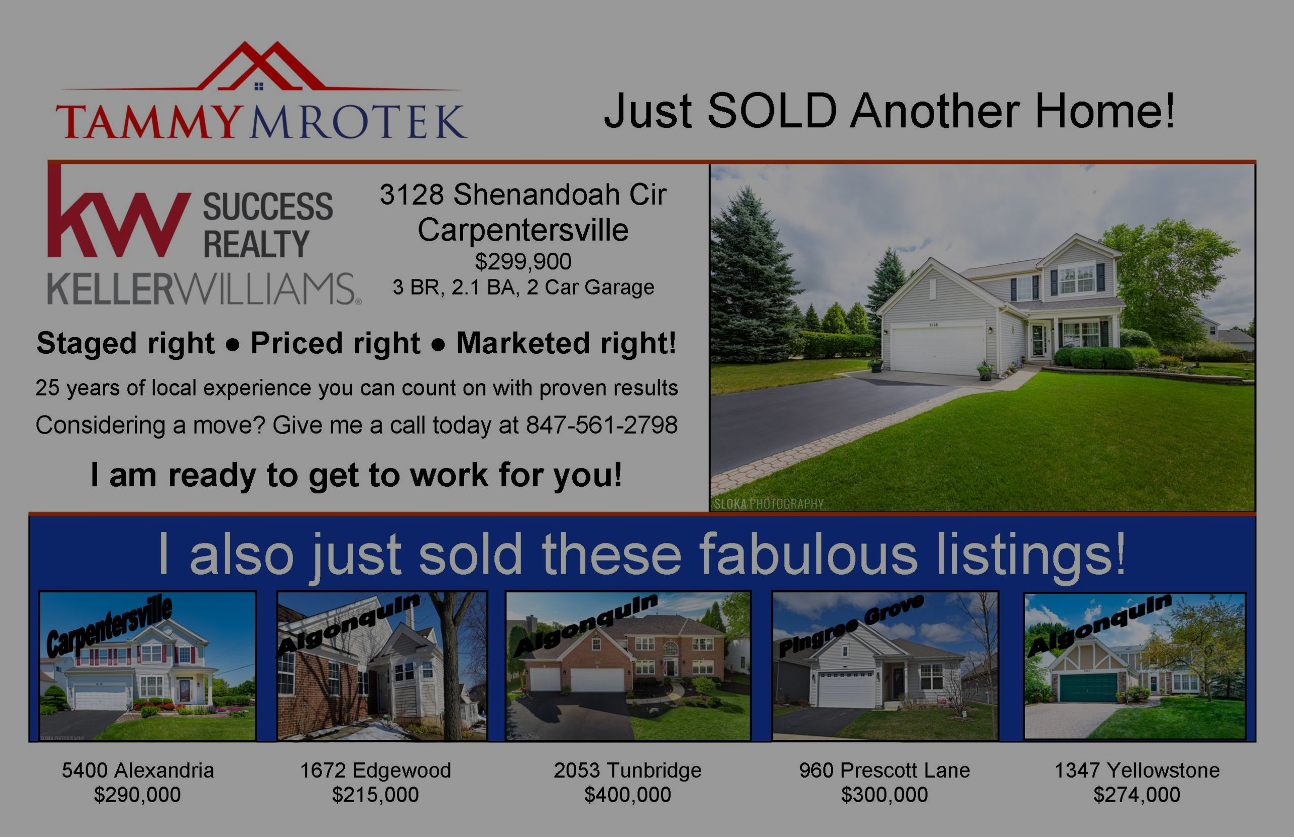 Multiple Listings Just Sold!