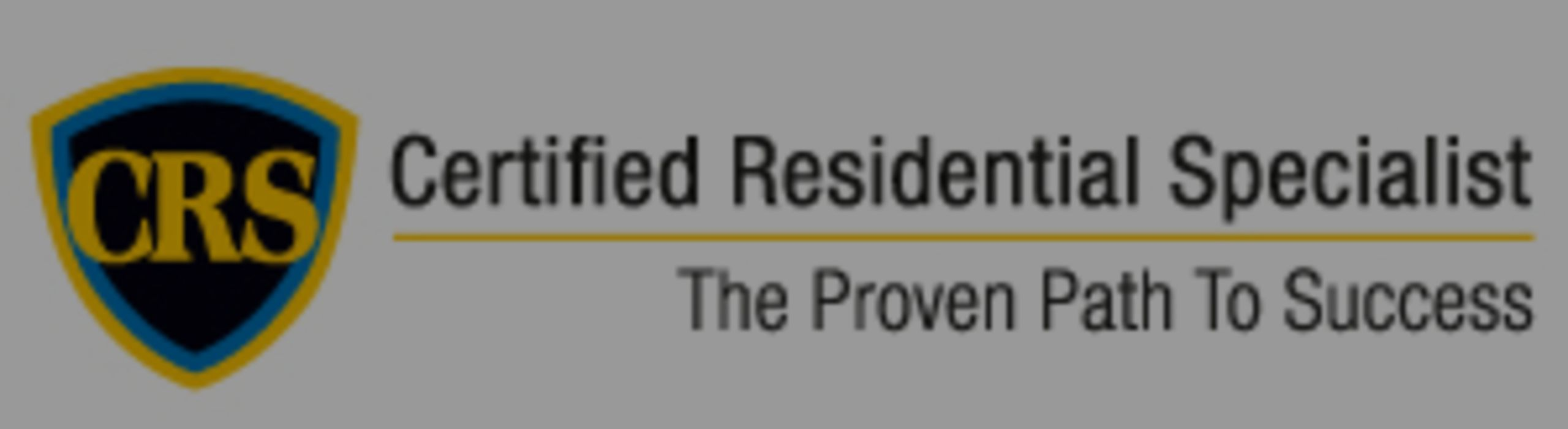 Certified Residential Specialist/CRS