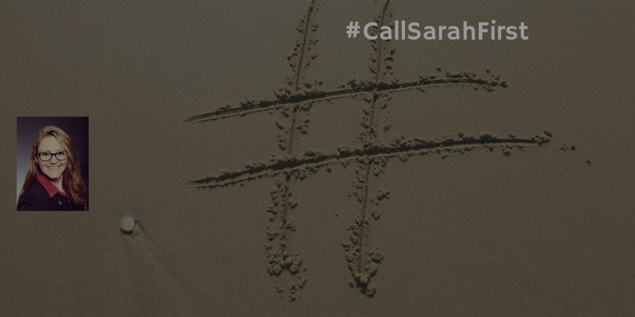2020 New Year Call Sarah First Hashtag Contest