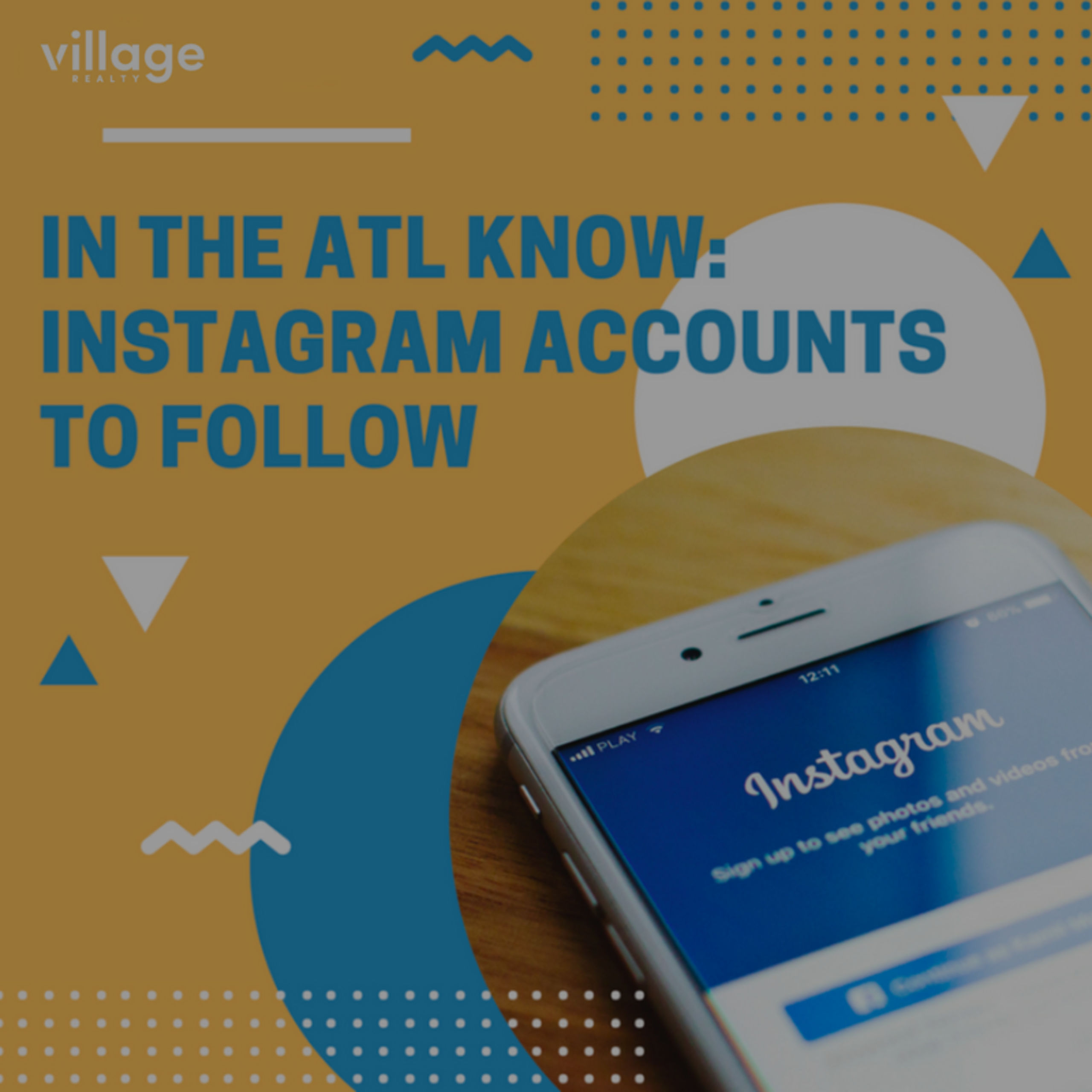 Atlanta Instagrams that will keep you in the know