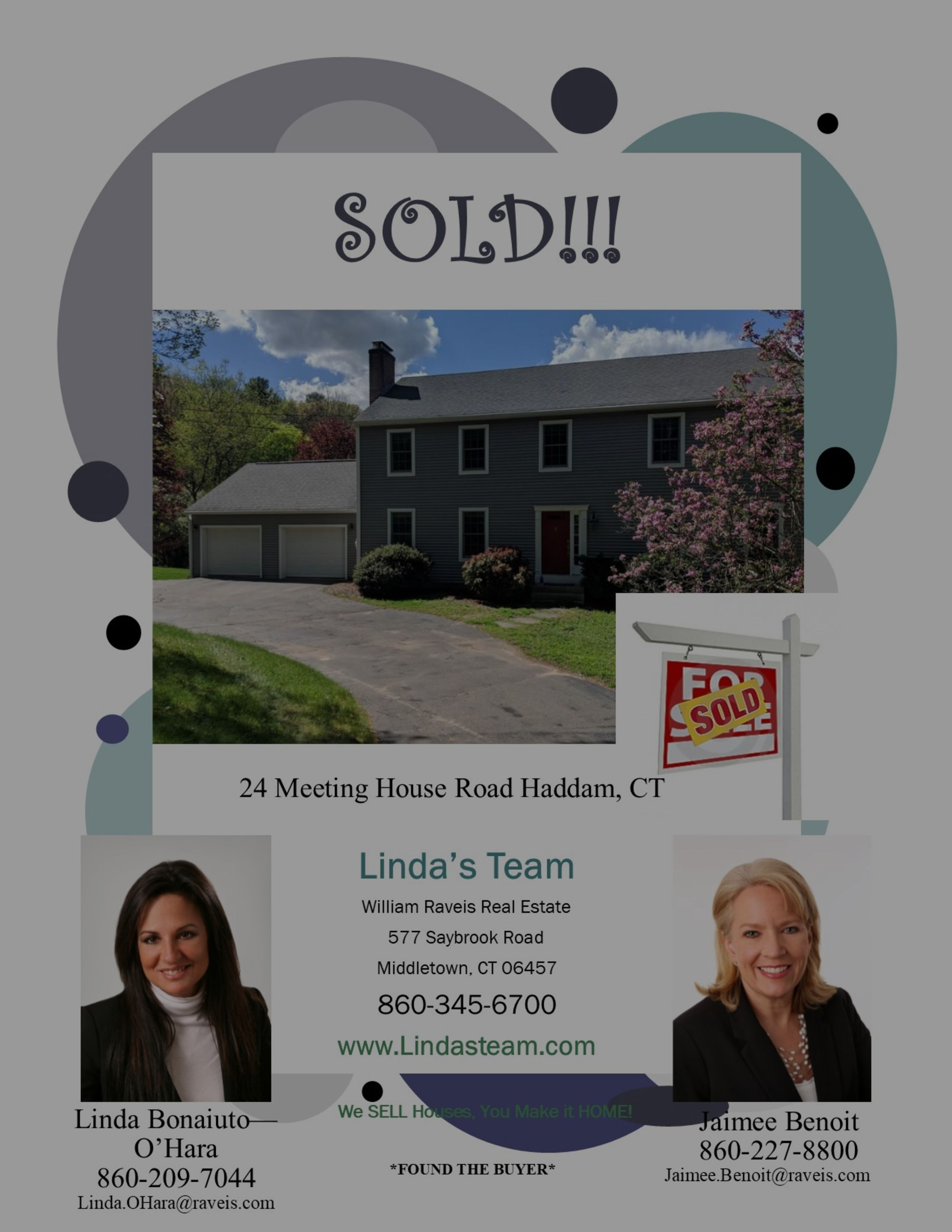 Found the Buyer in Haddam!