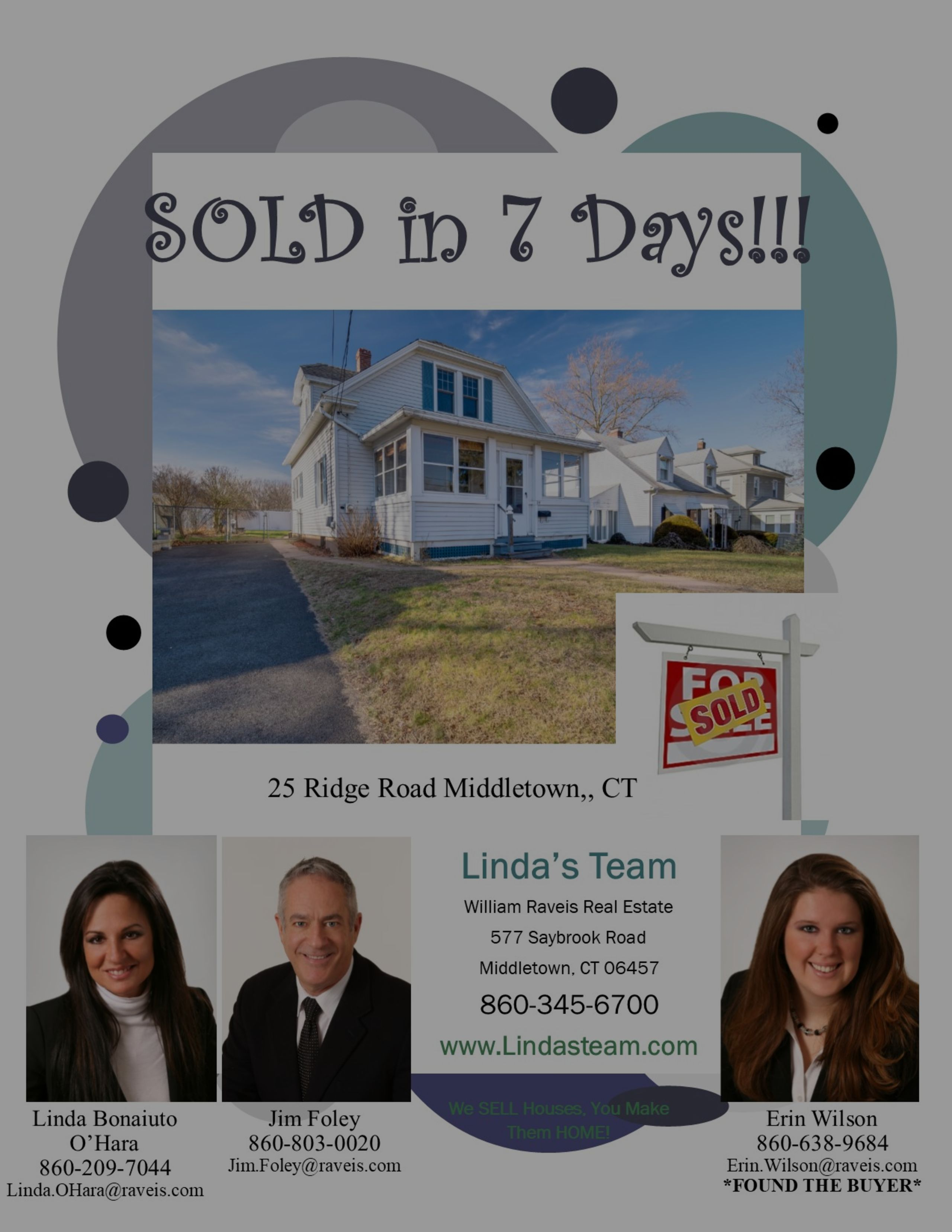 SOLD in 7 Days!!