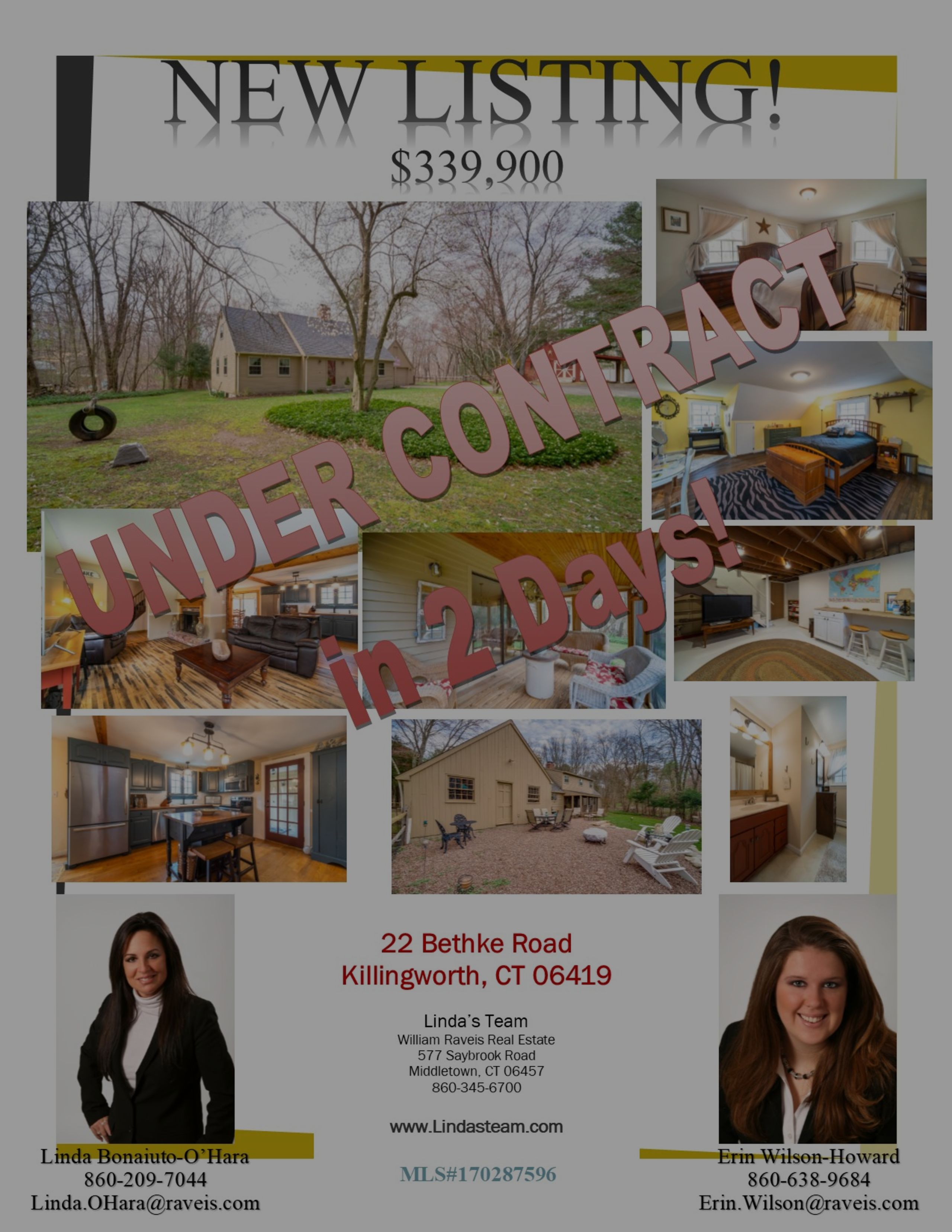 Under Contract in 2 Days!!!