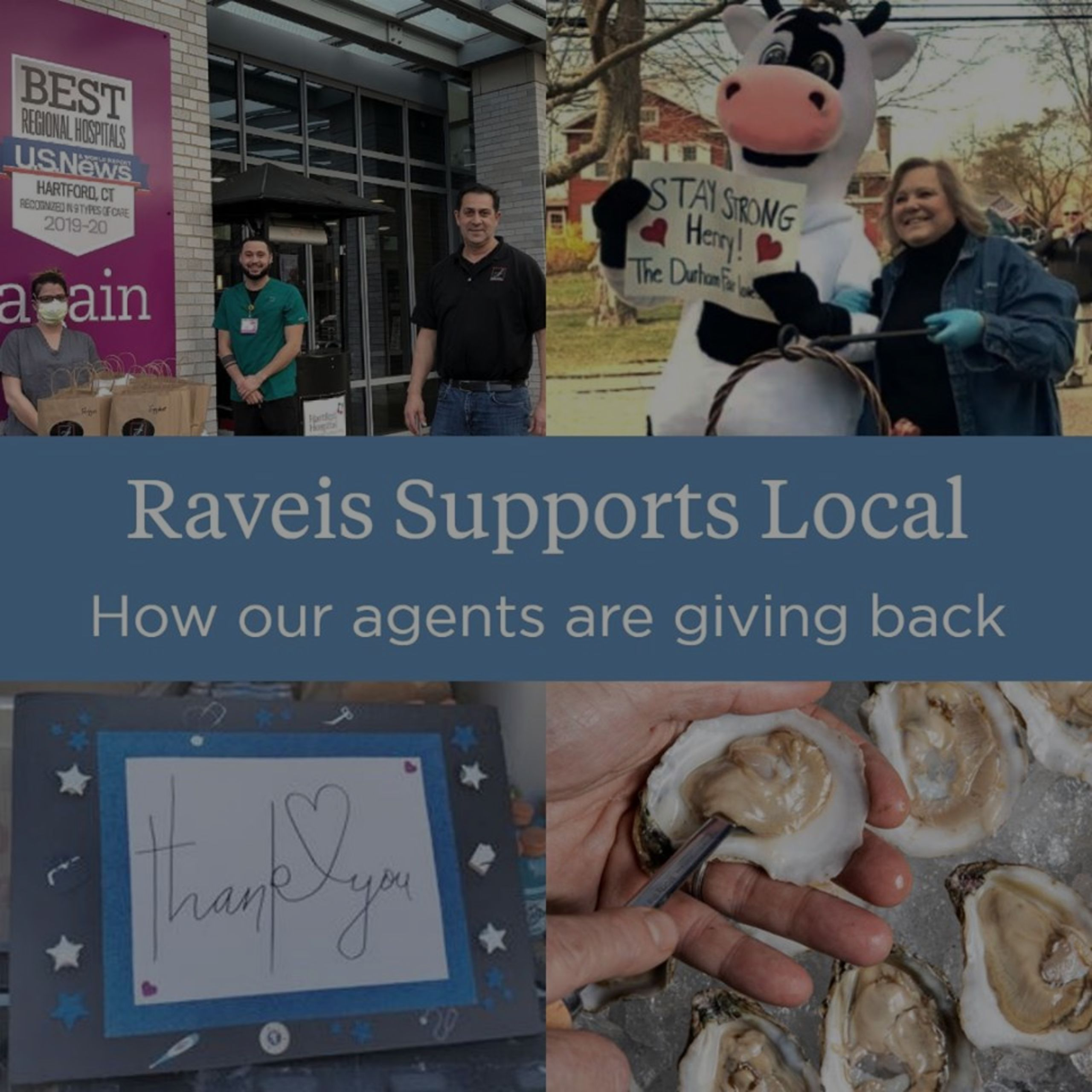 Raveis Supports Locals!