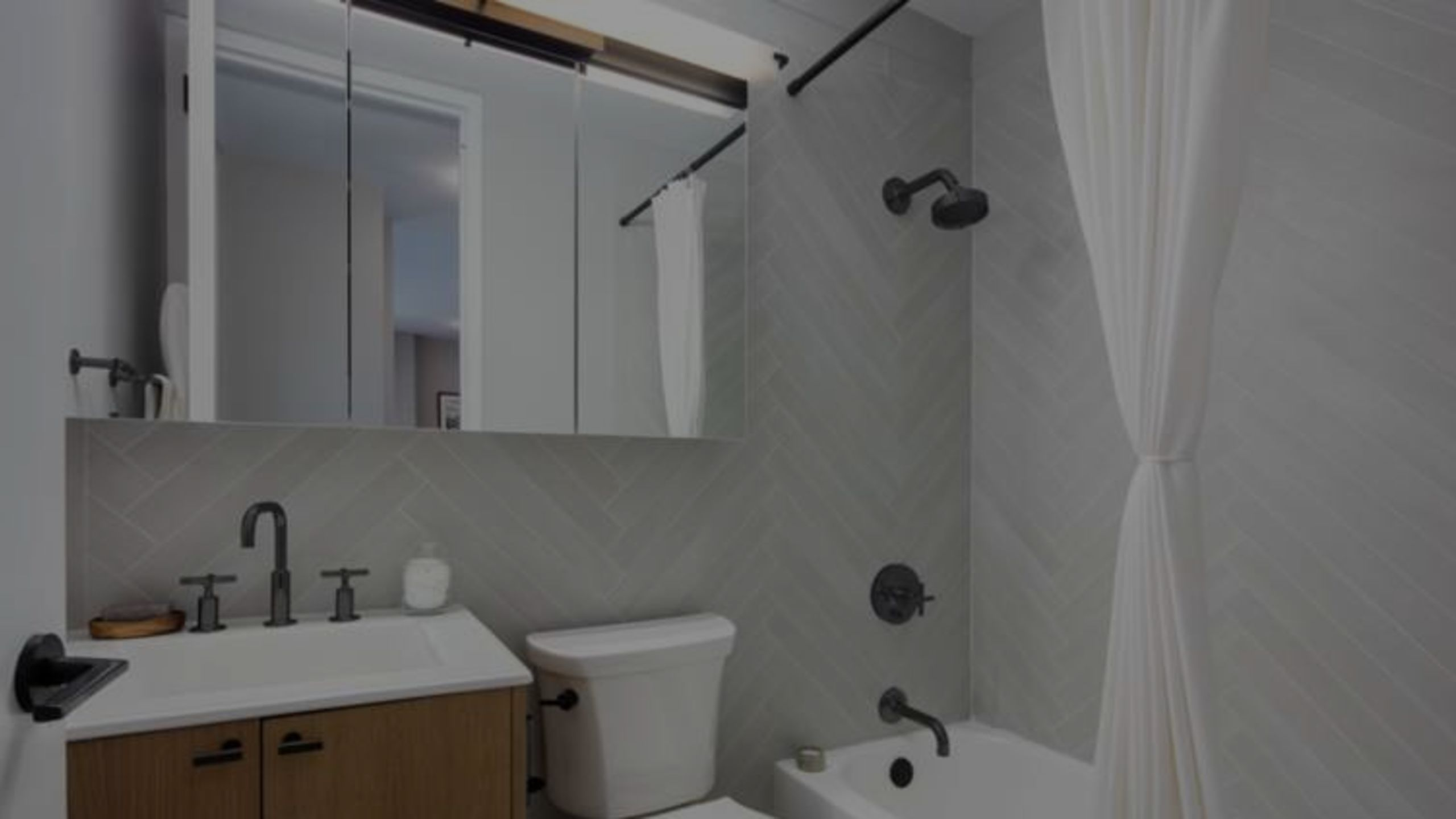 The $100 Bathroom Makeover