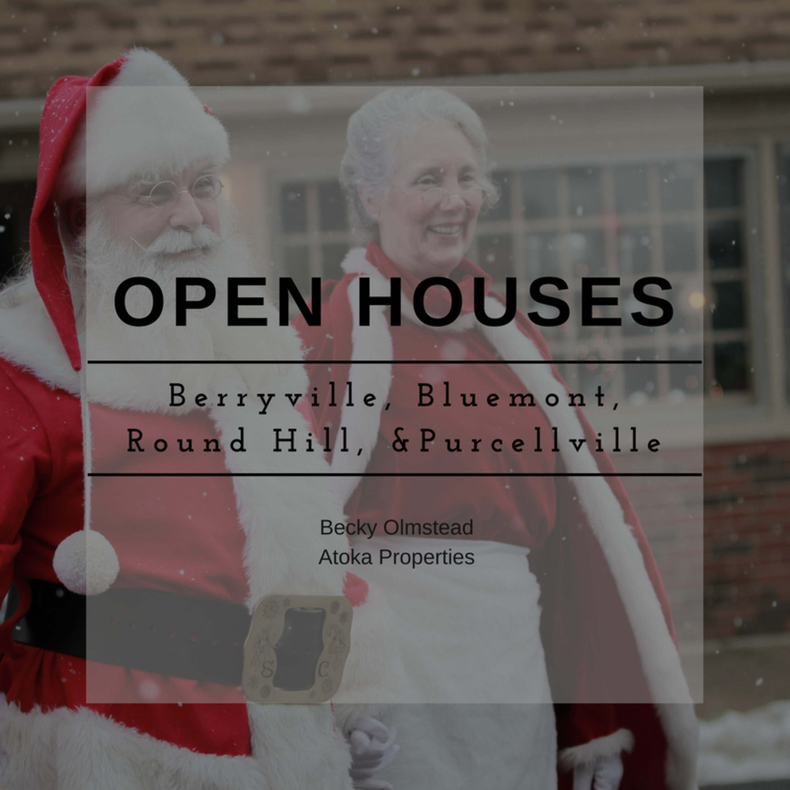 OPEN HOUSE LIST 12/16/17 – 12/17/17
