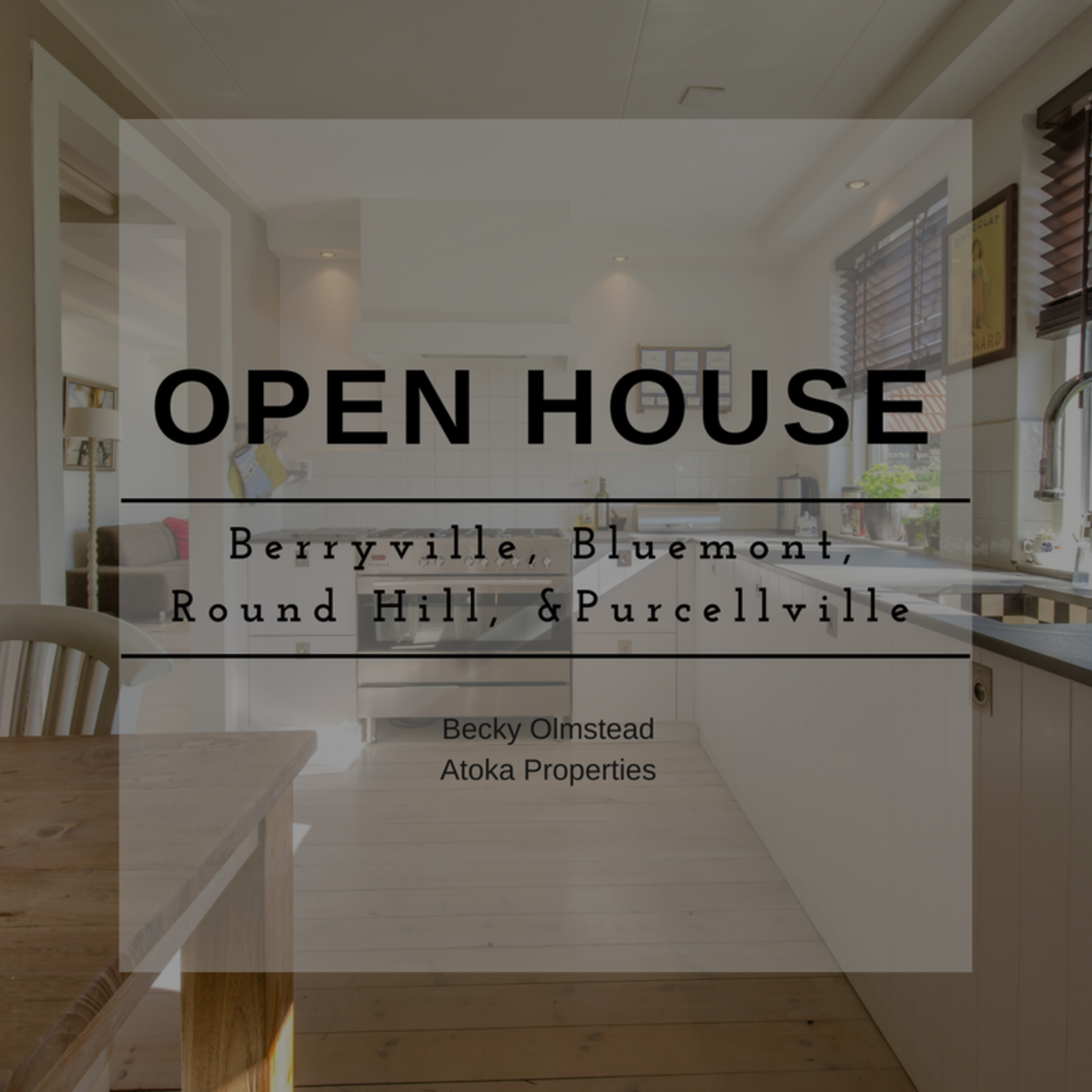 OPEN HOUSE LIST 1/27/18 – 1/28/18