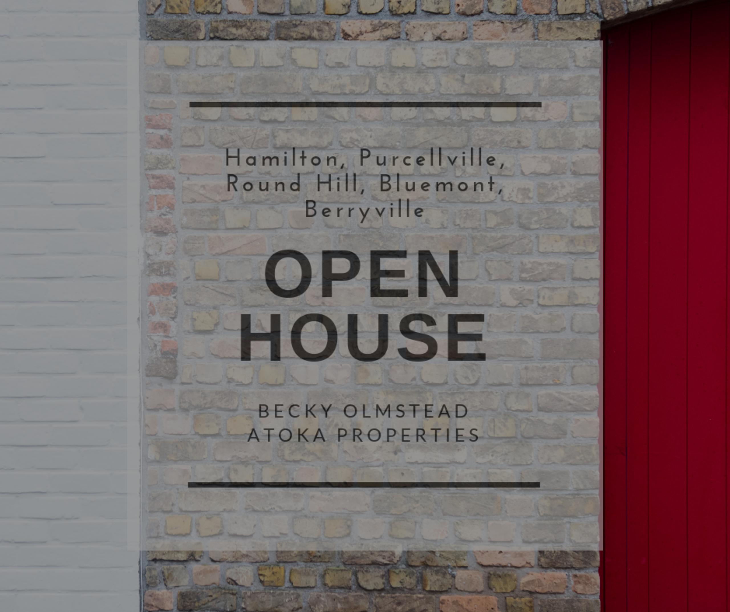 Open House 10/10/18 – 10/11/18