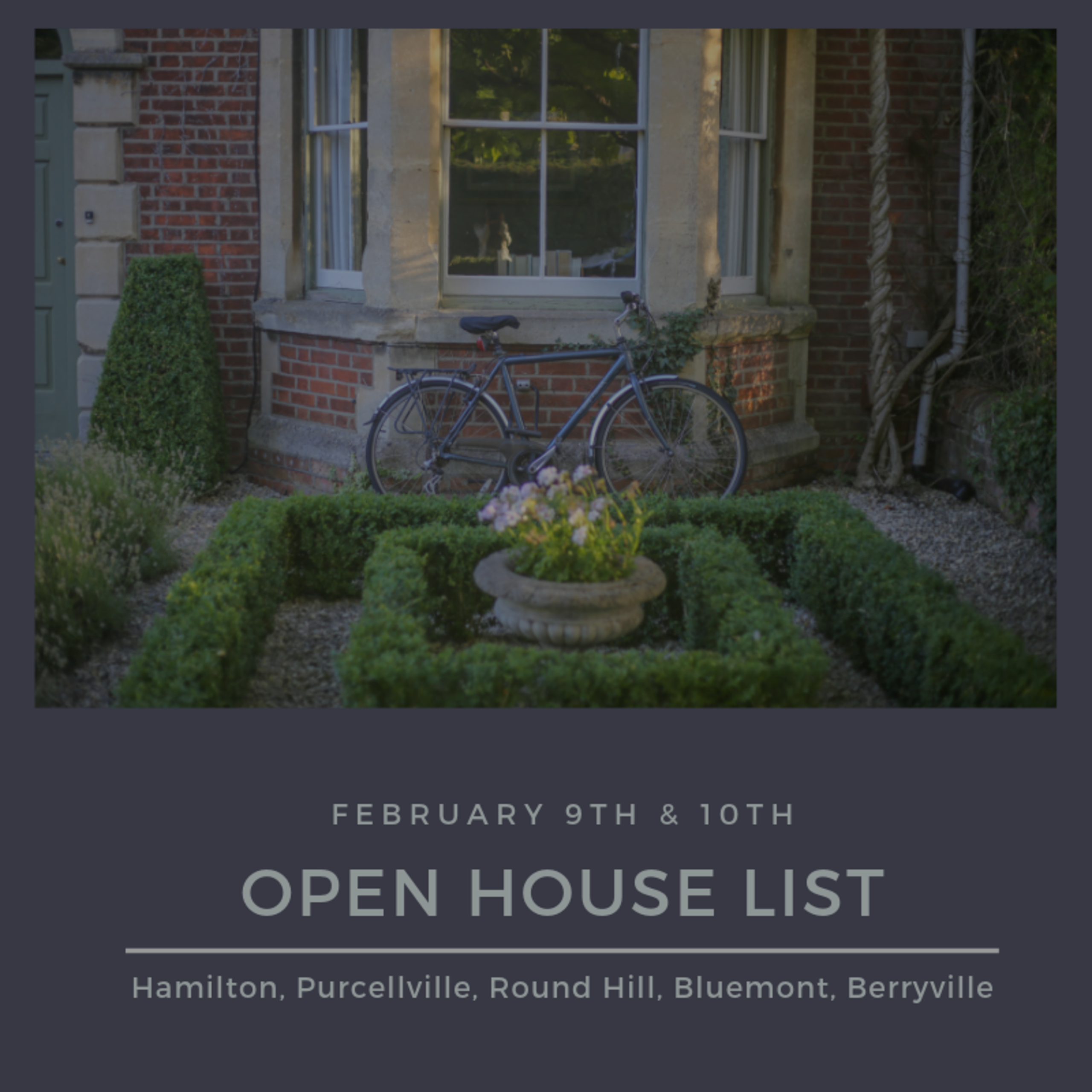 Open House List 2/9/19 – 2/10/19
