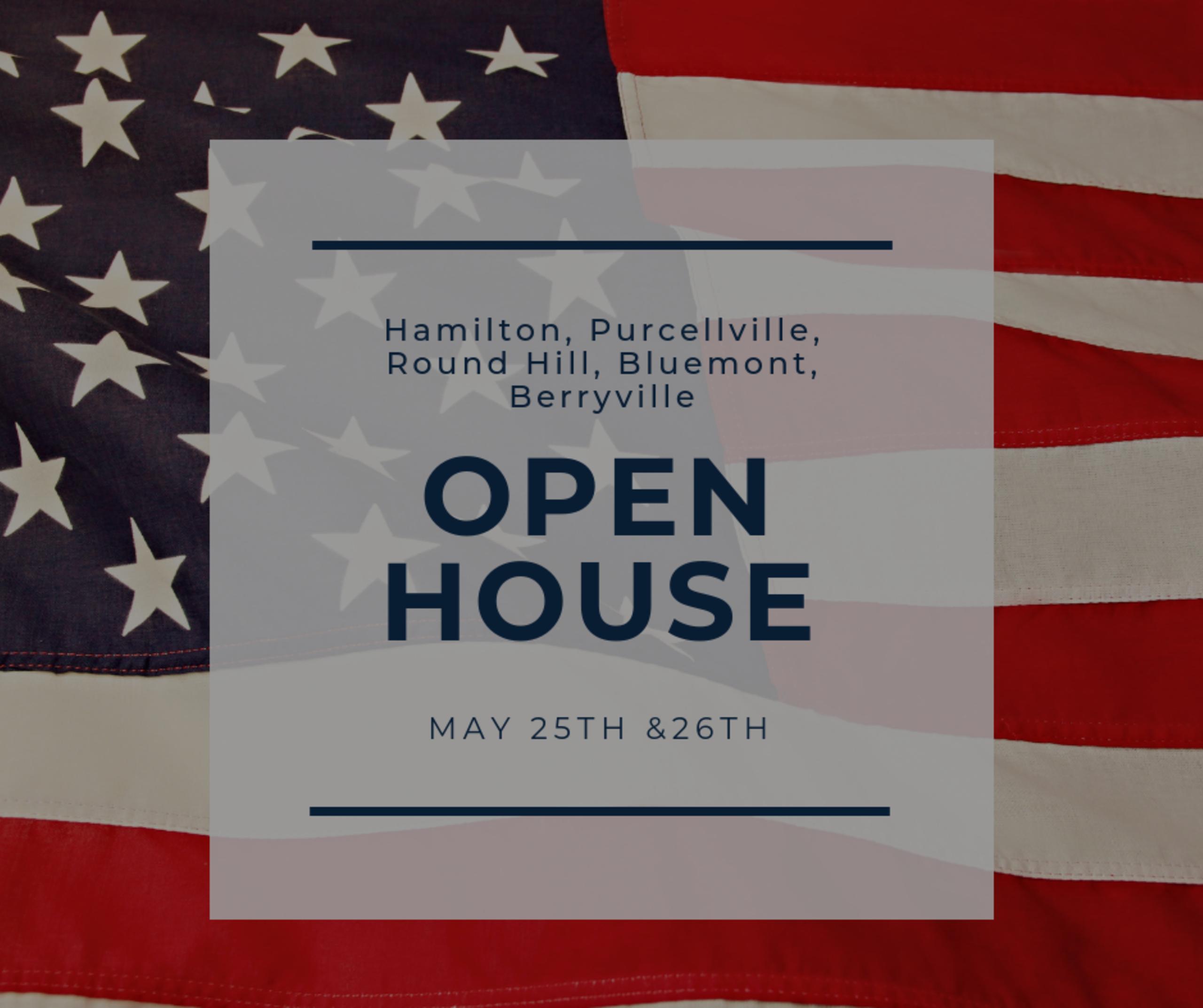 Open House List 4/25/19 – 4/26/19
