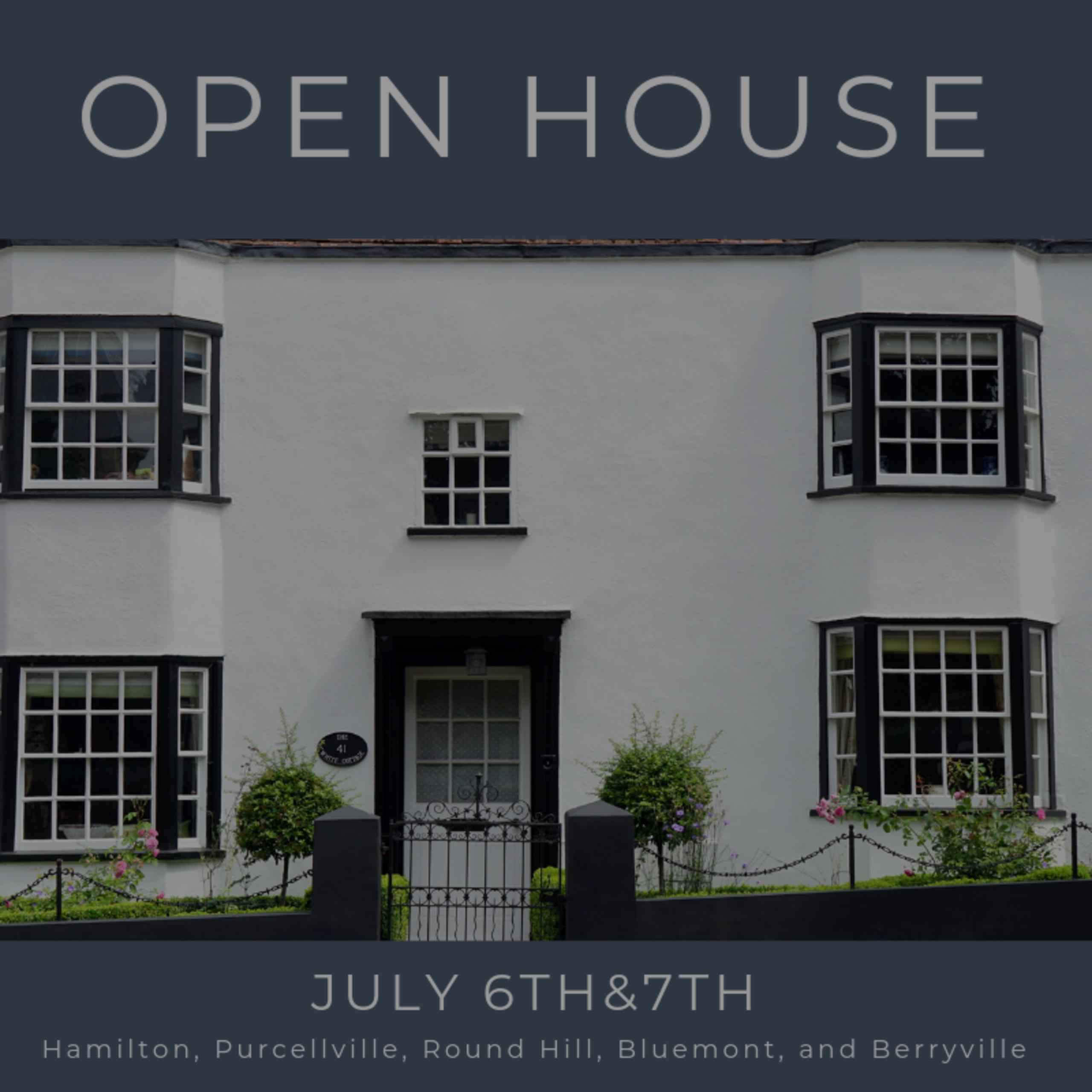 Open House List 7/6/19 – 7/7/19