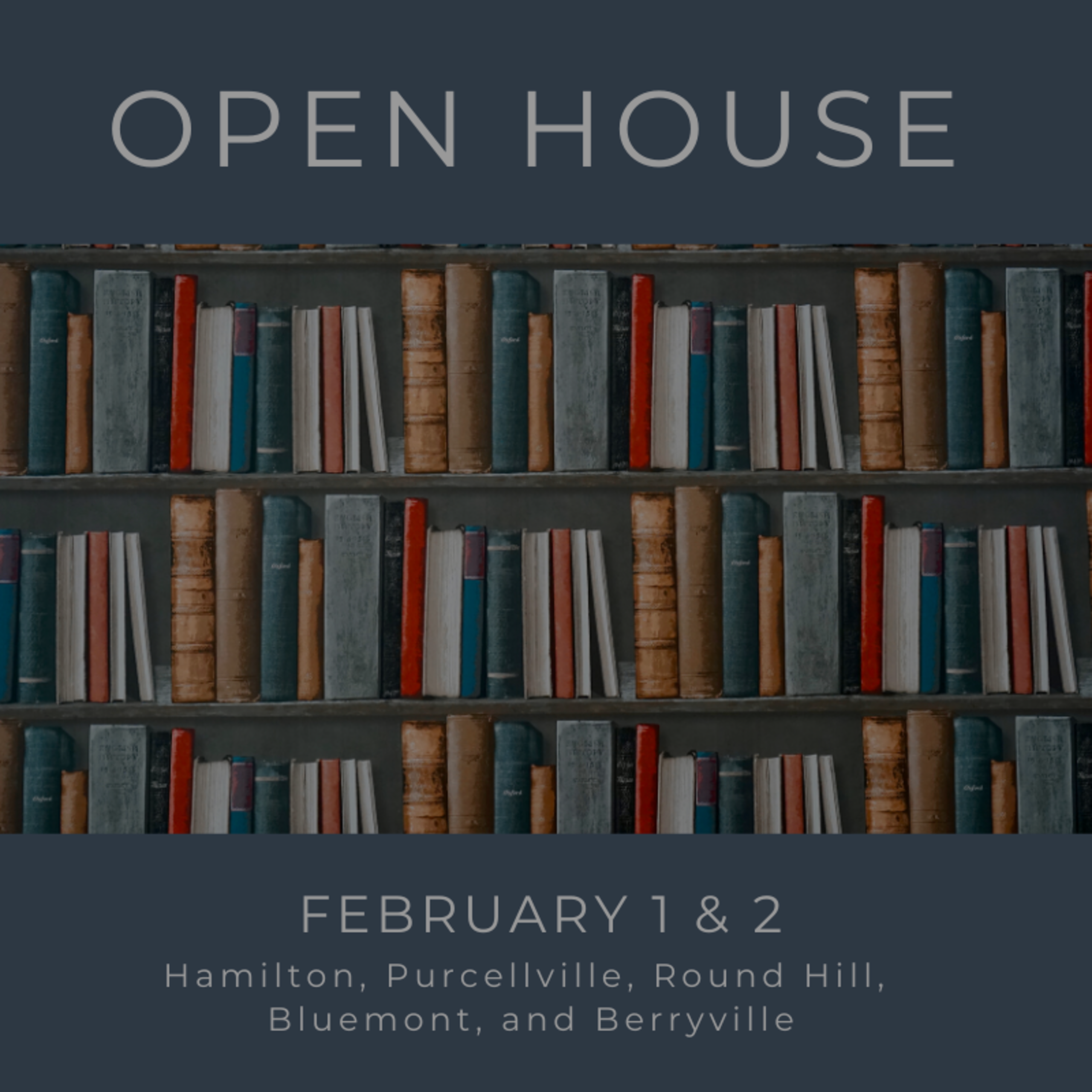 Open House List 2/1/2020 – 2/2/20
