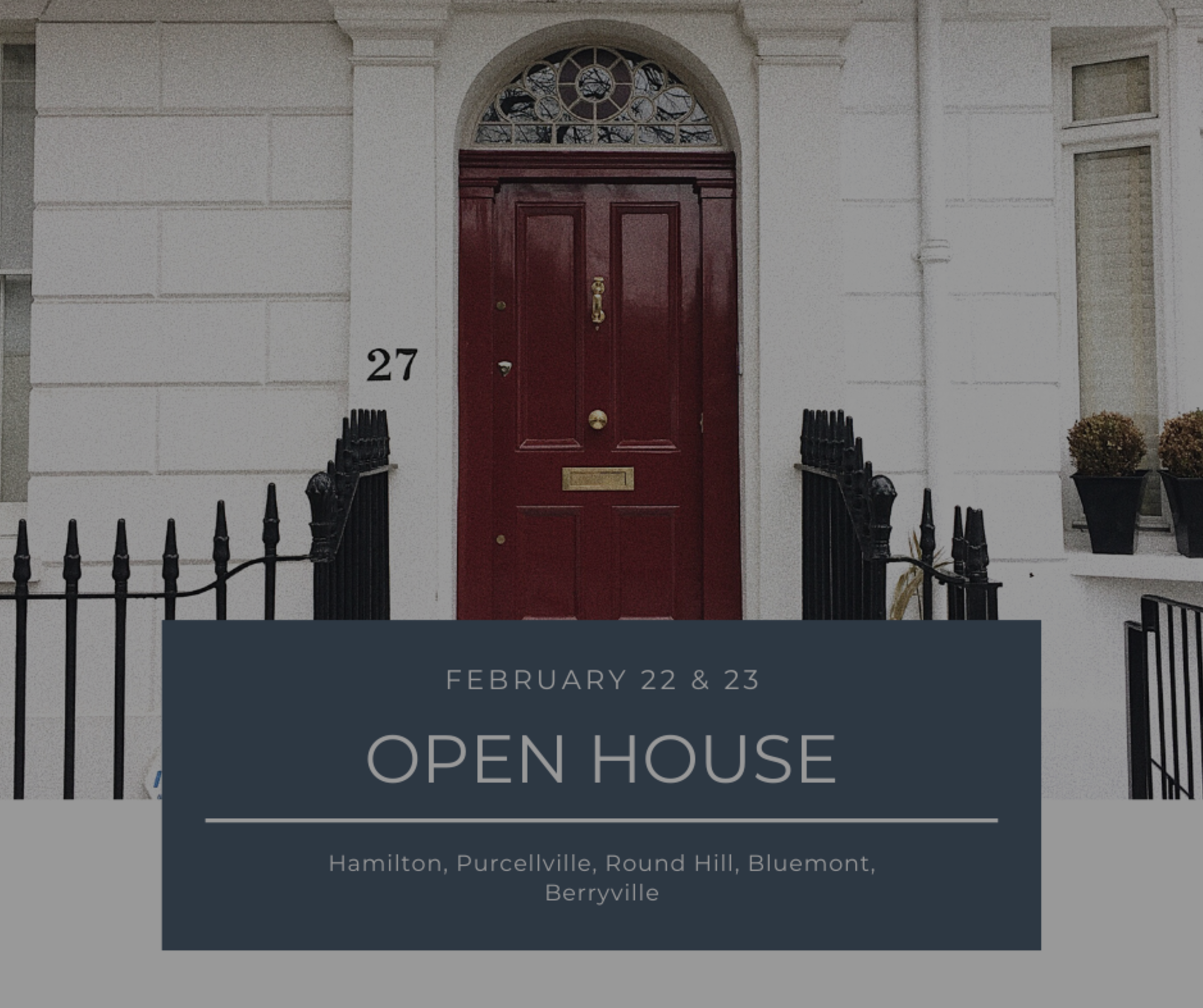 Open House List 2/22/20 – 2/23/20