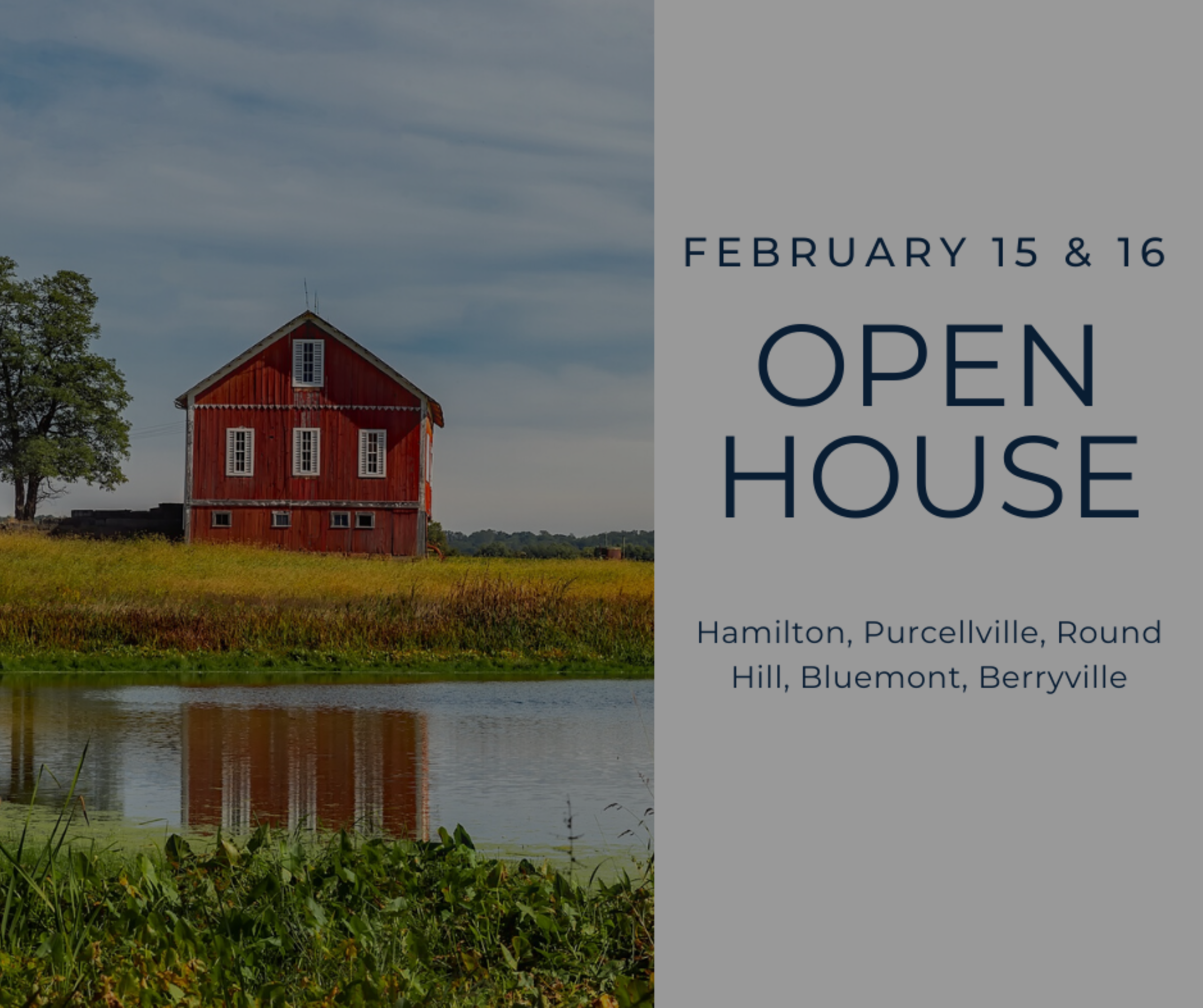 Open House List 2/15/20 – 1/16/20