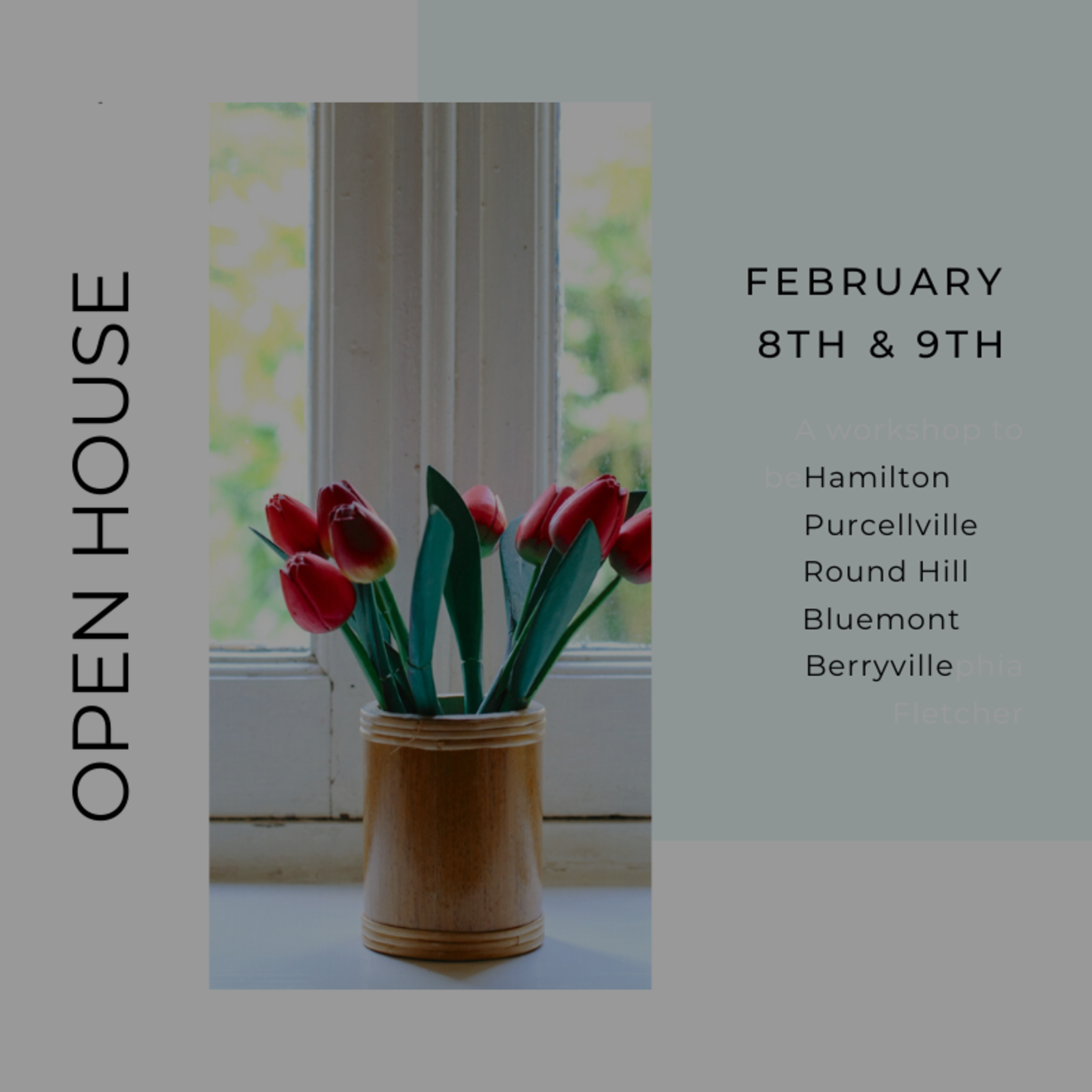 OPEN HOUSE LIST 2/7/20 – 2/8/20