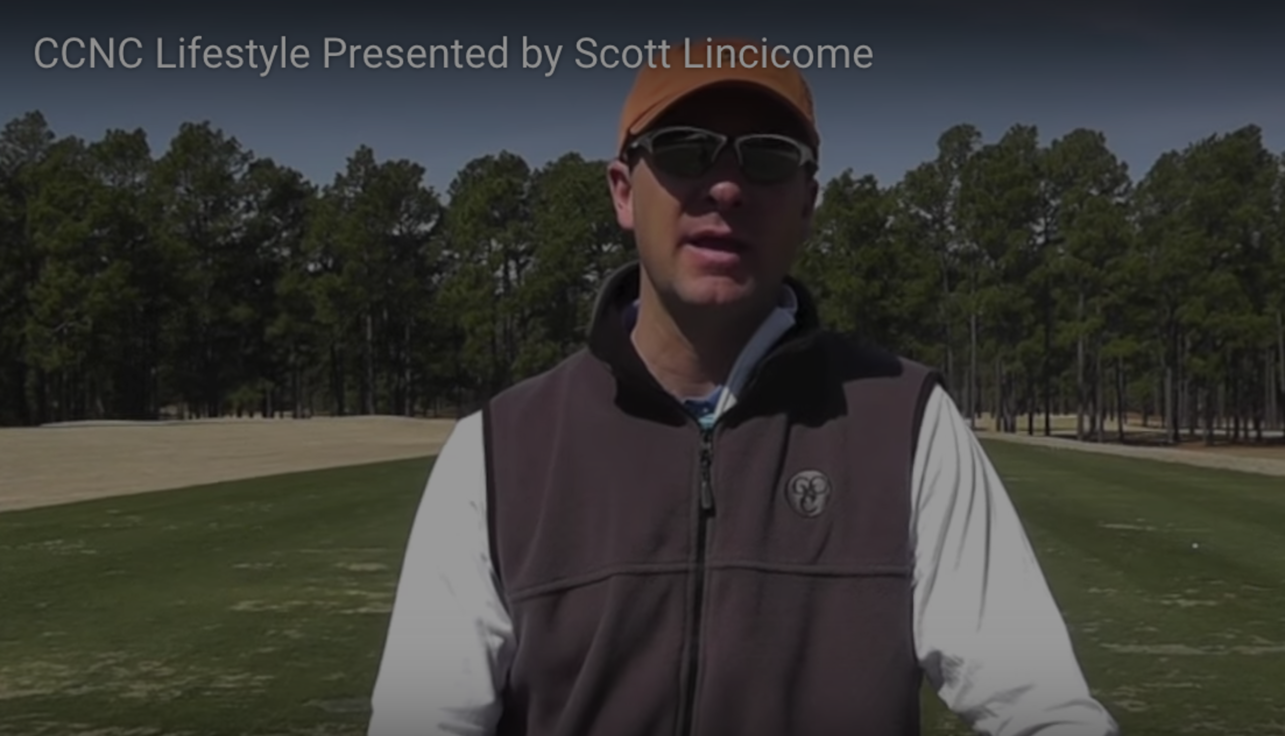 Scott Lincicome talks about the Country Club of North Carolina in Pinehurst NC