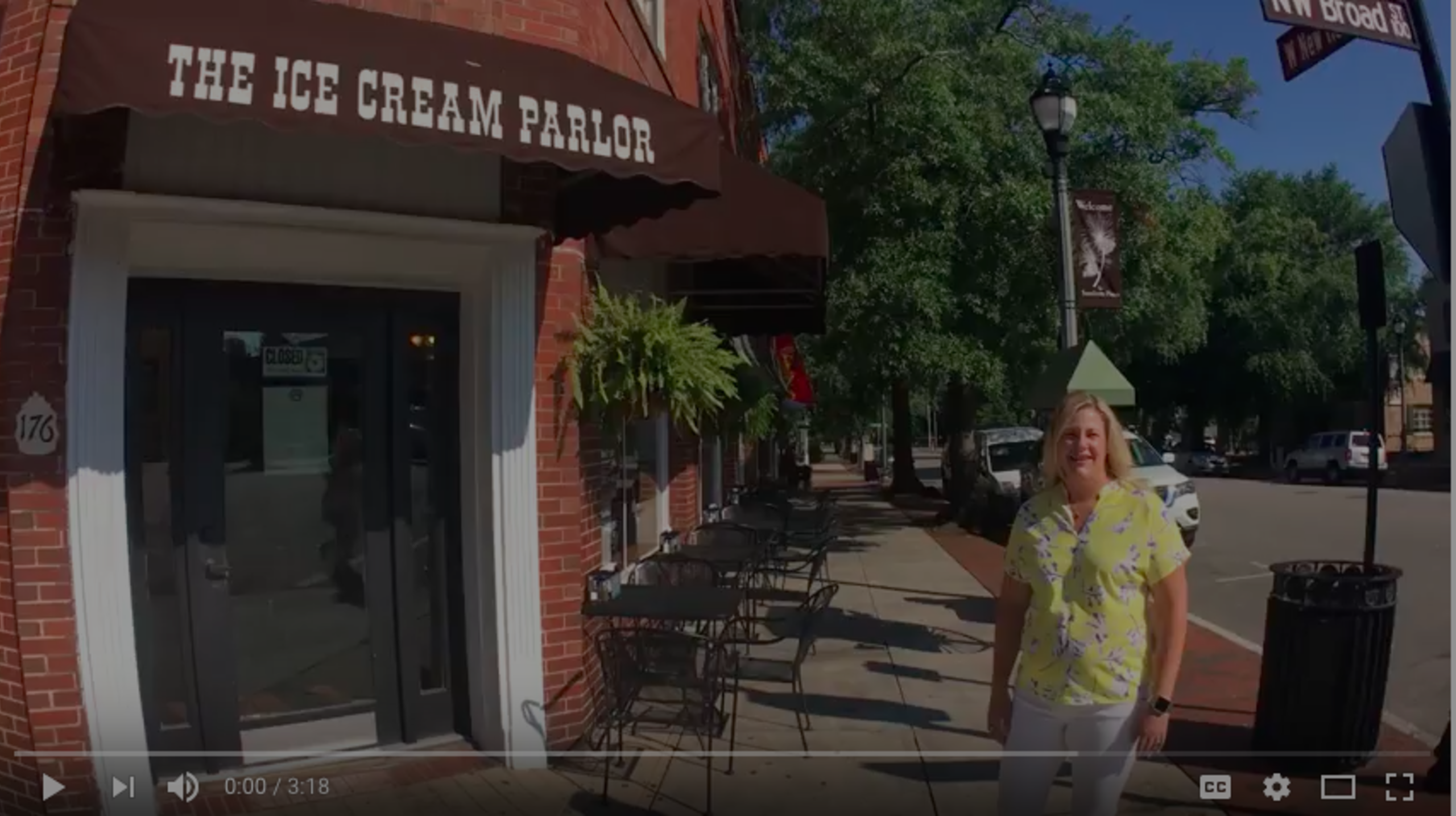 Ice Cream Parlor Tour – Downtown Southern Pines