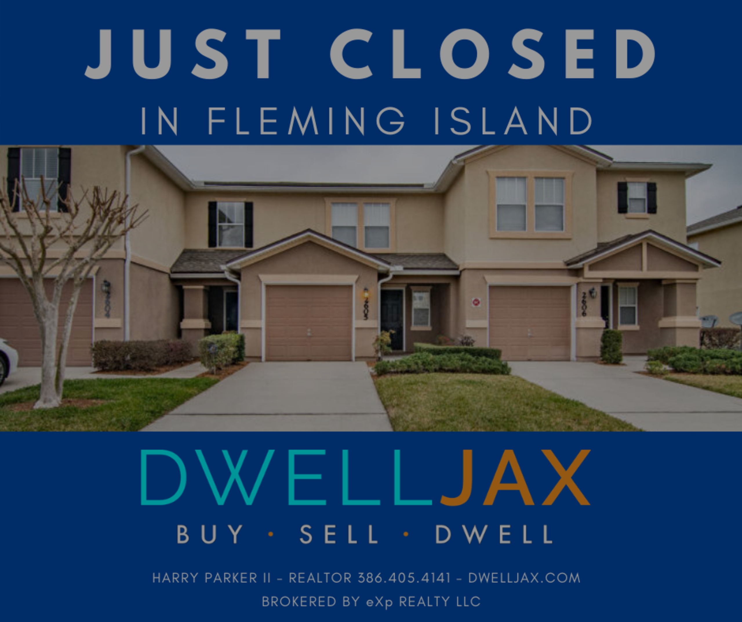 JUST CLOSED – 1500 Calming Water #2605 Fleming Island FL 32203