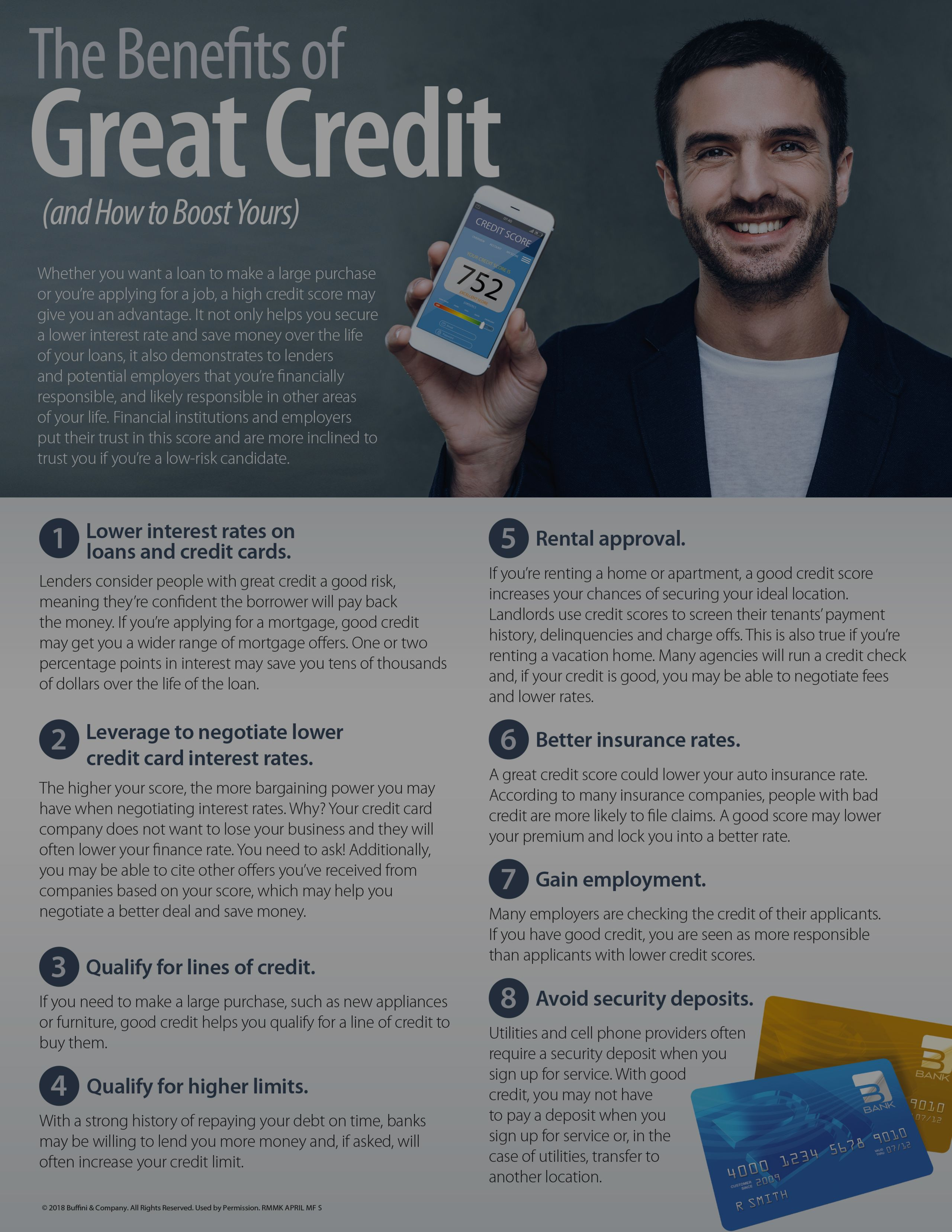 The Benefits of Great Credit