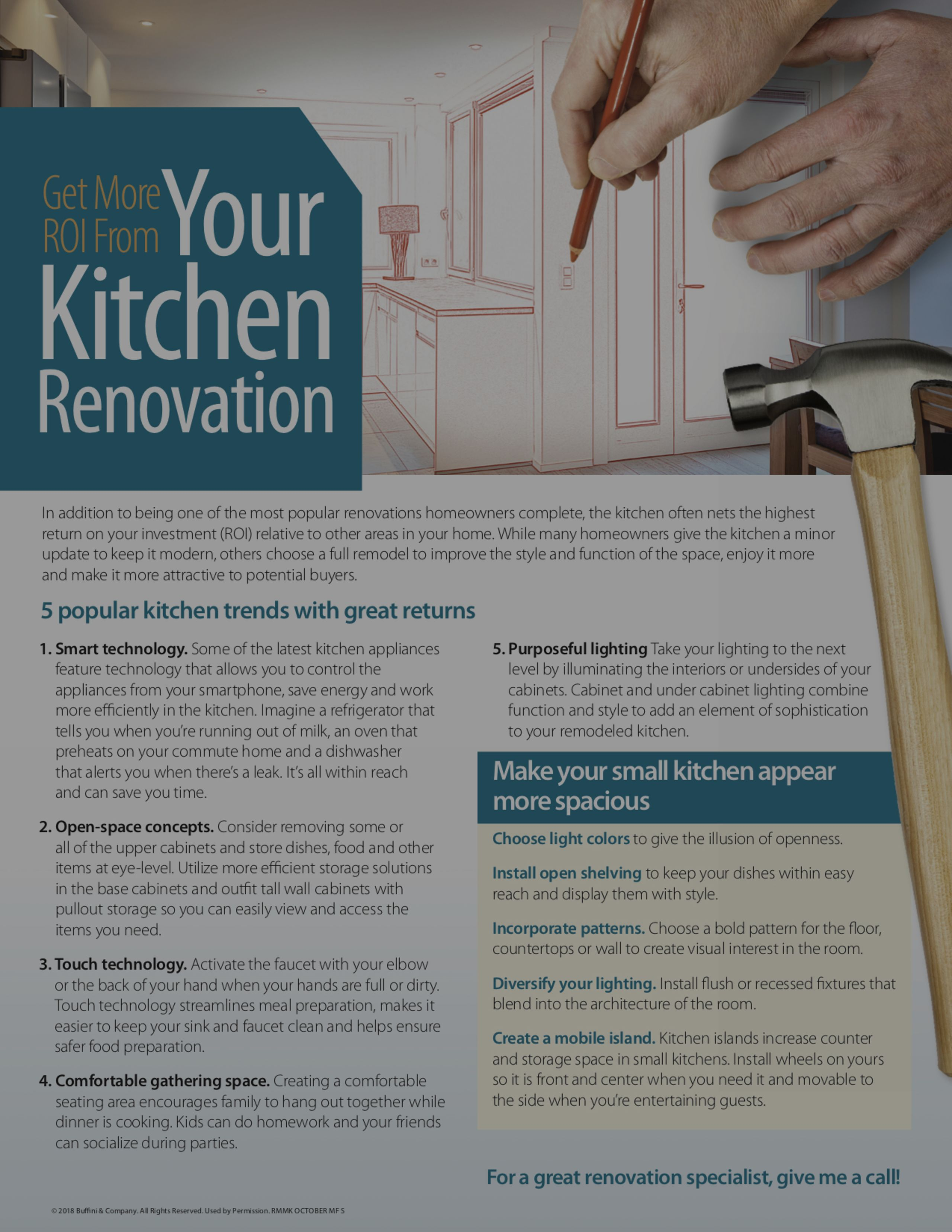 Get More ROI From Your Kitchen Renovation