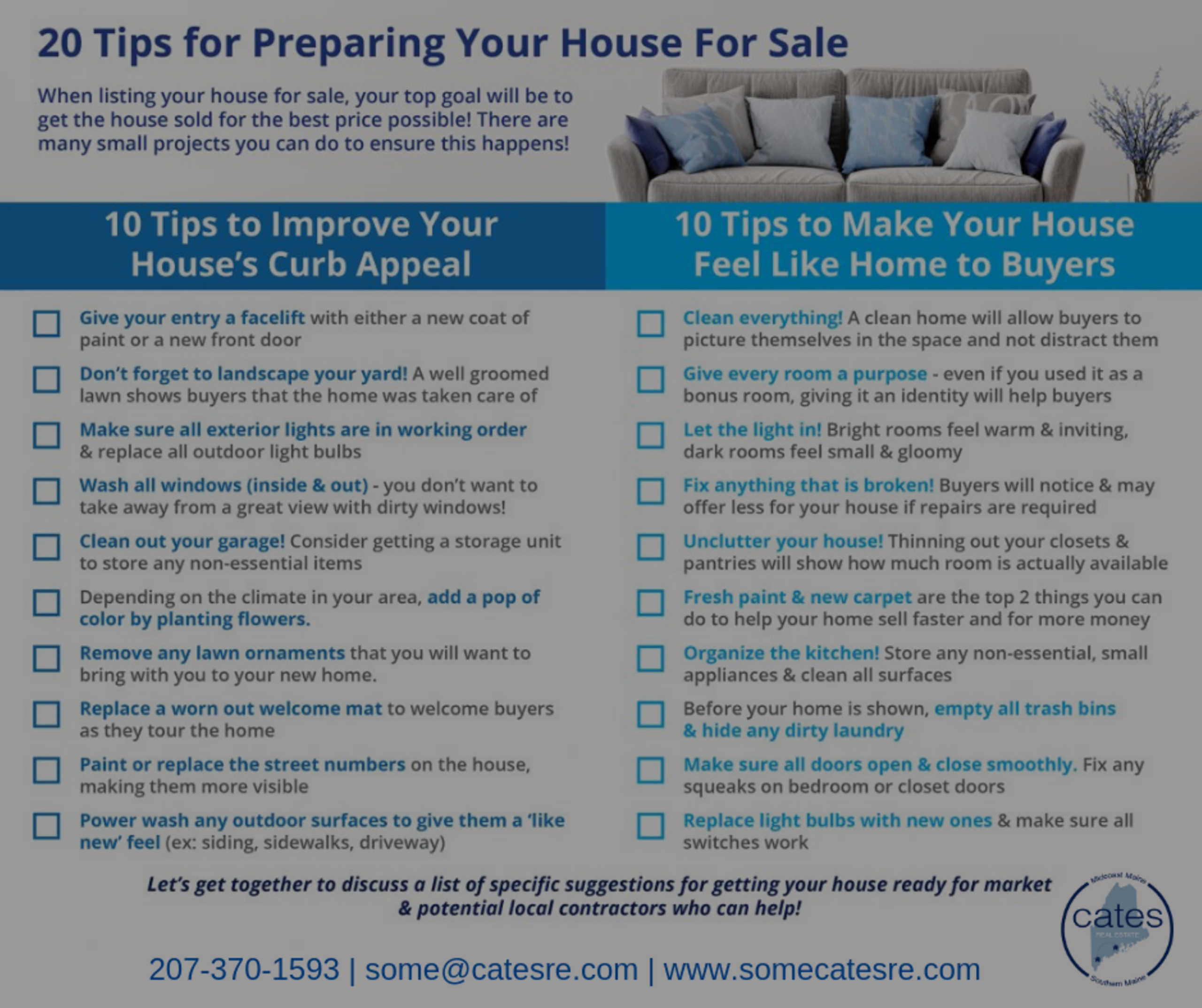 Tips for Preparing Your House for Sale