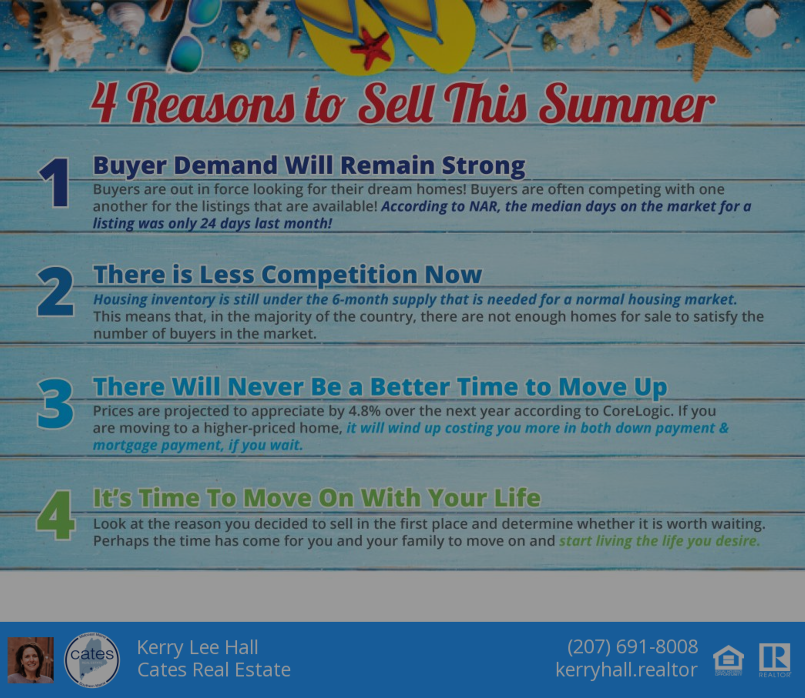 Reasons to Sell this Summer