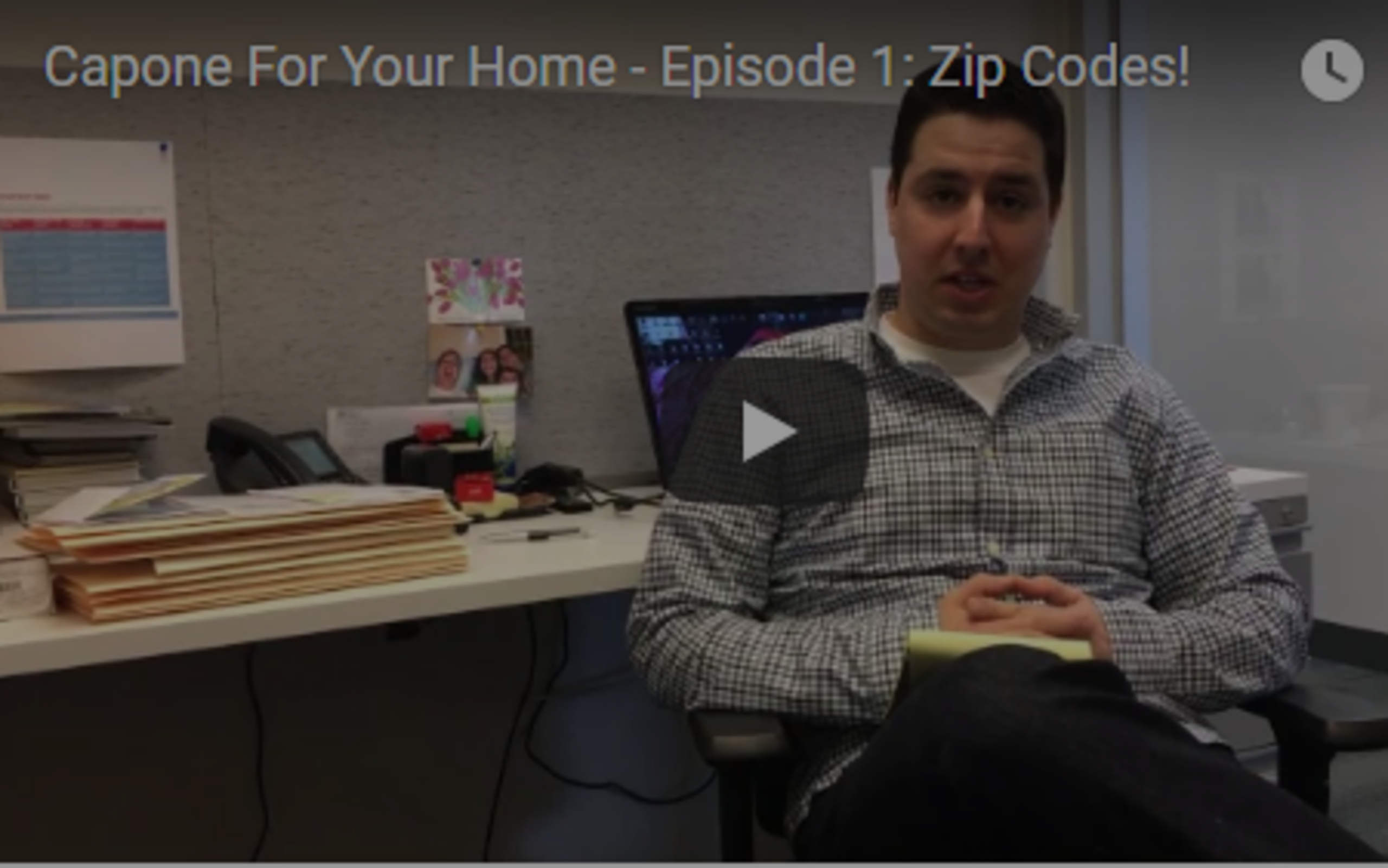 Video Blog – Episode 1: Zip Codes!