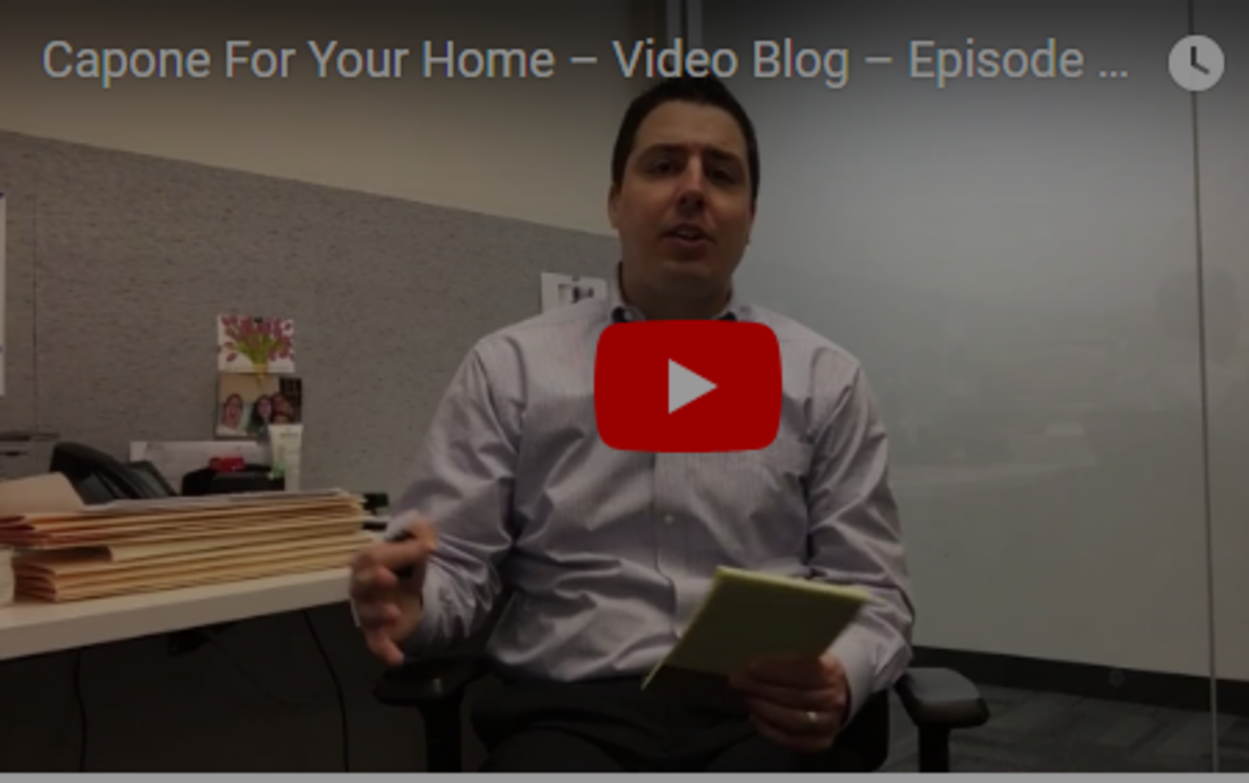Video Blog – Episode 2: Radon!