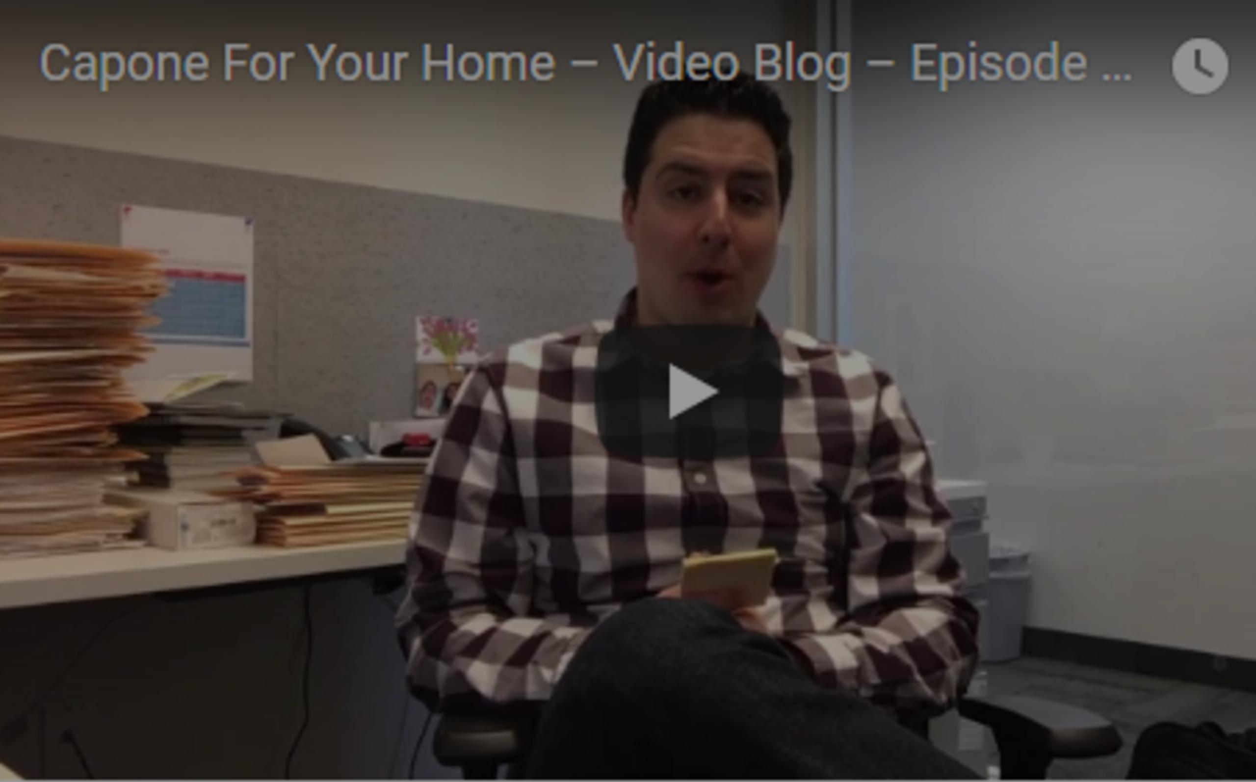 Video Blog – Episode 4: Multiple Offer Scenario