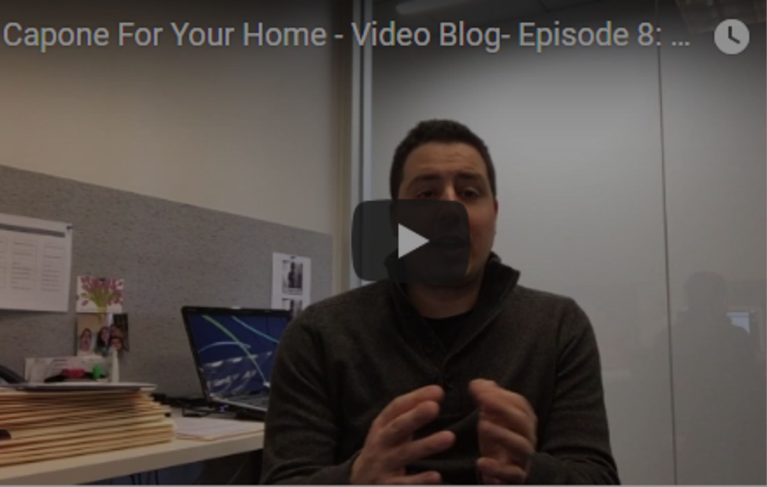 Video Blog – Episode 8: When Does the Spring Market Start?