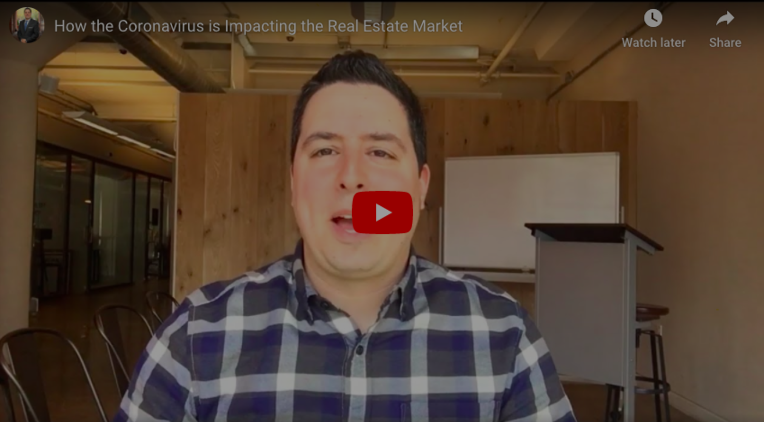 Bryan's Take on The Coronavirus & Its Impact on Real Estate