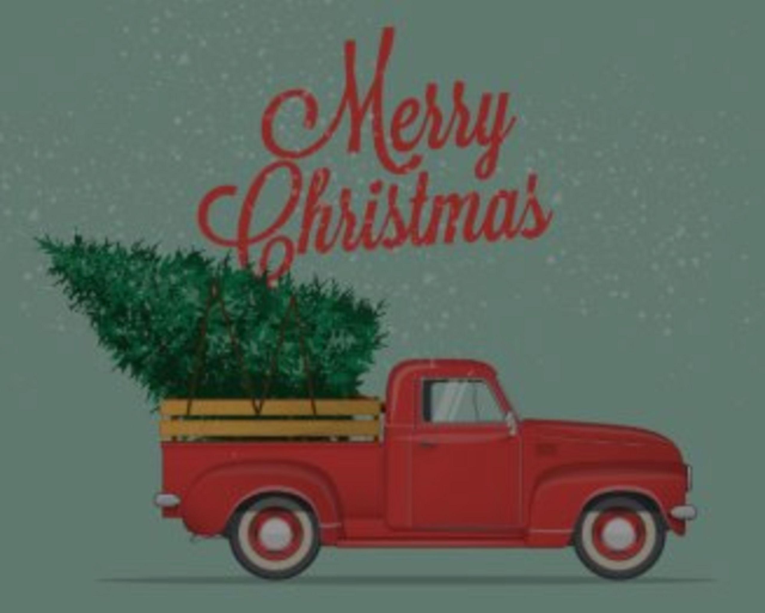 Christmas memories, Getting a Tree
