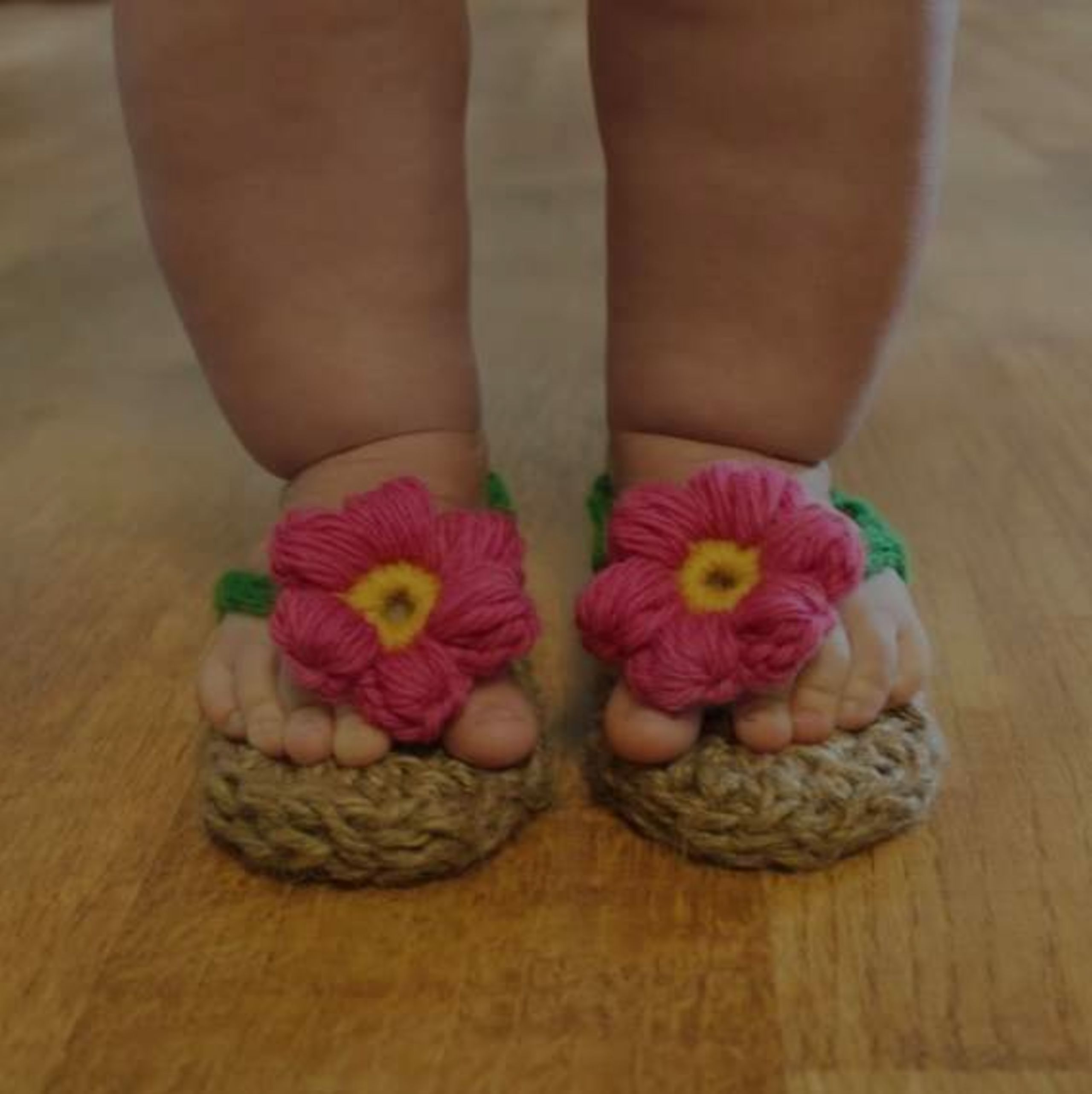 Beautiful Baby Crochet Sandals In Time For Easter