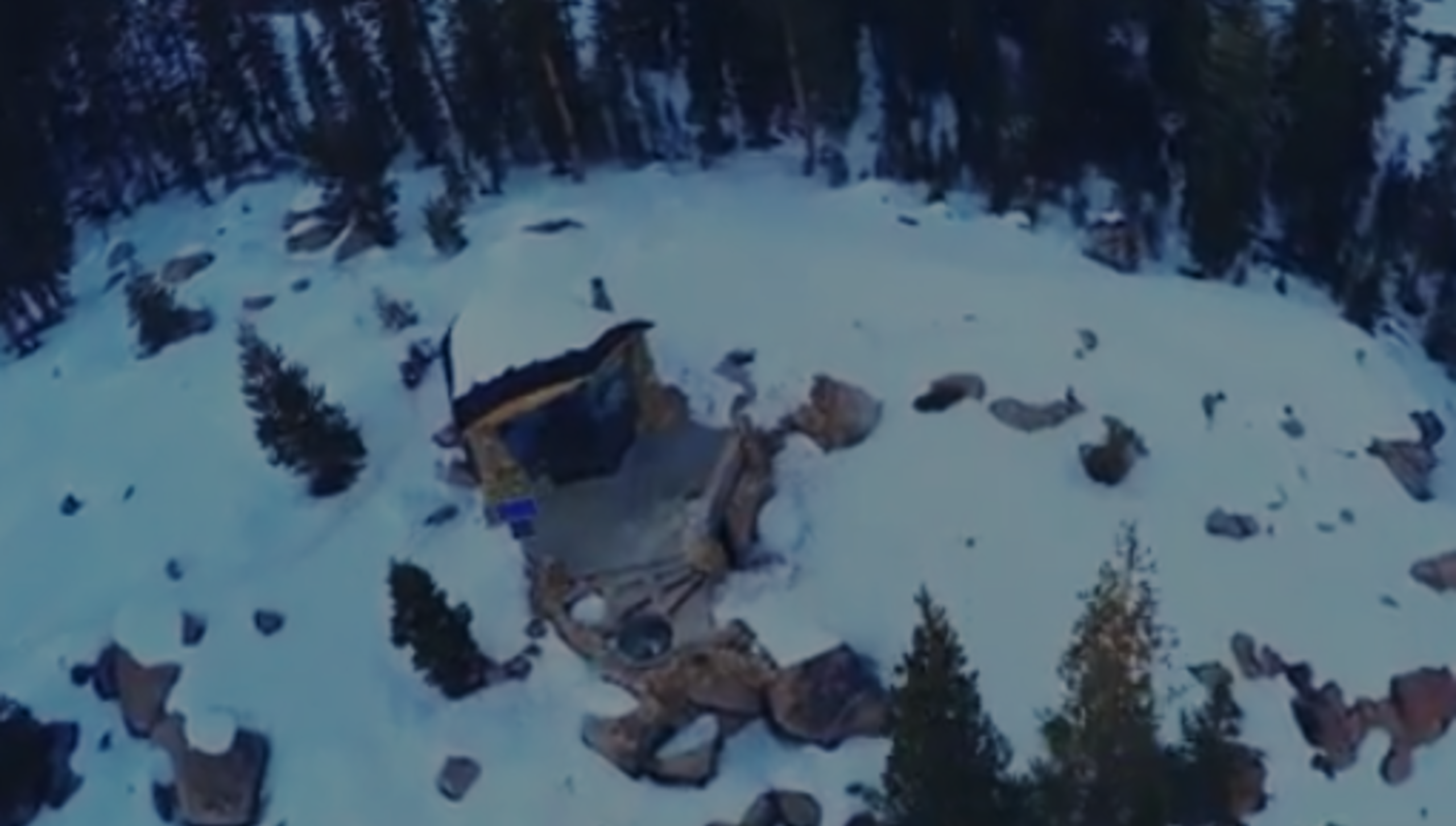 This Guy Hid His Tiny House On Top Of A Huge Mountain. When You Walk Inside, WOW!