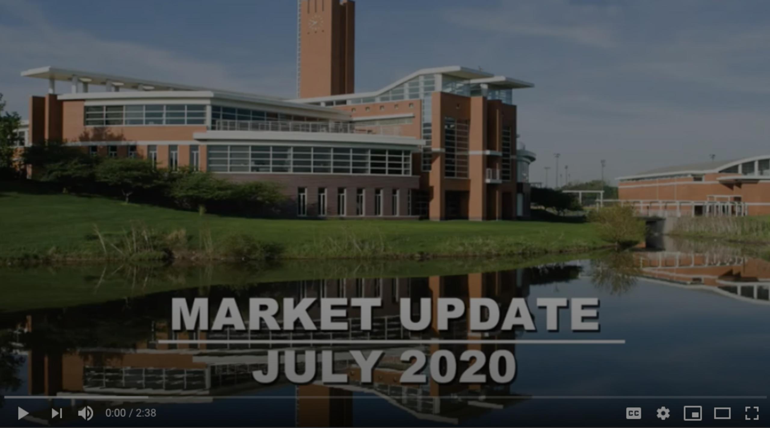 Orland Park Real Estate Market Update for July 2020