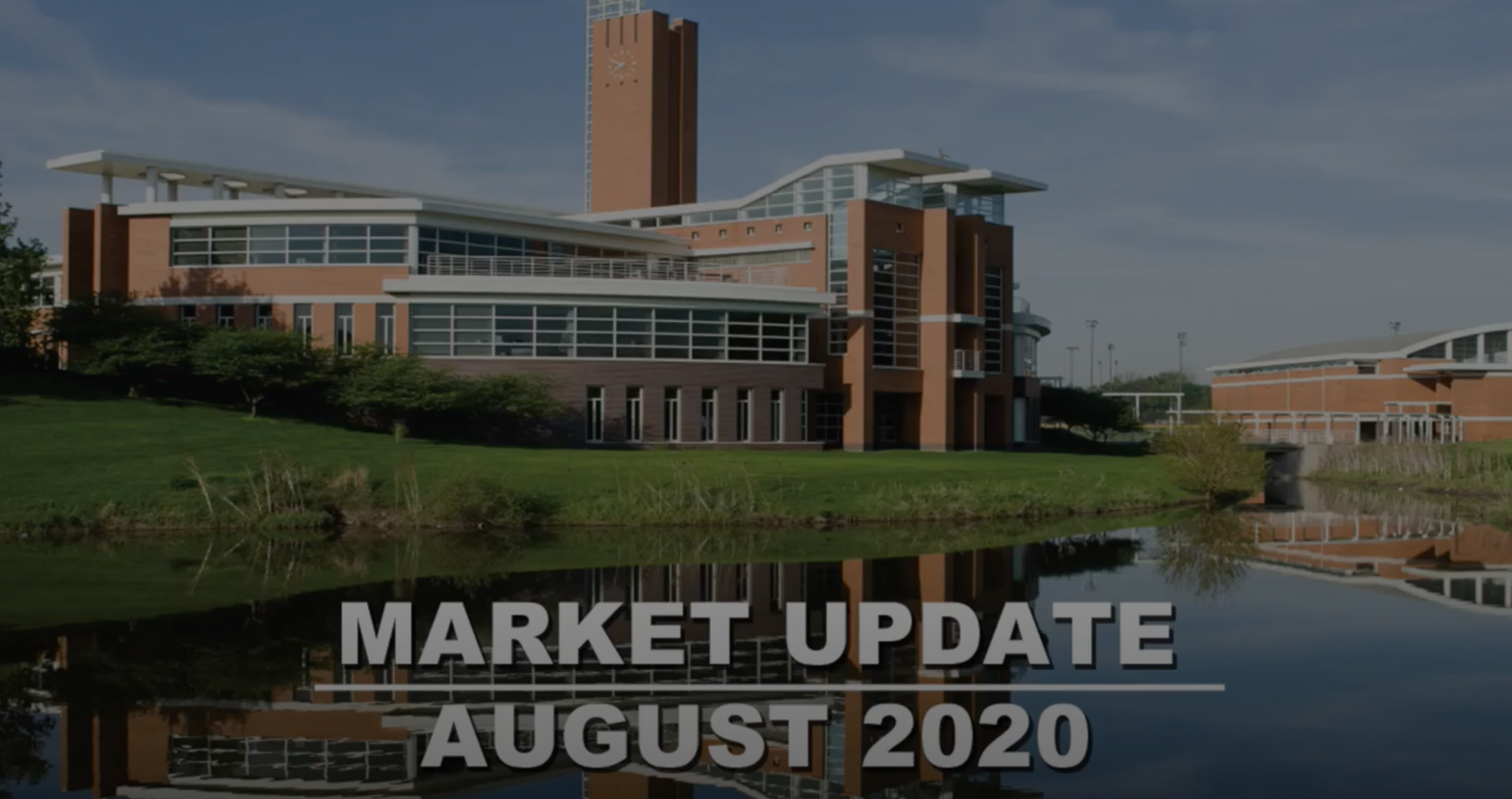 Orland Park and Tinley Park Real Estate Market Update for August 2020