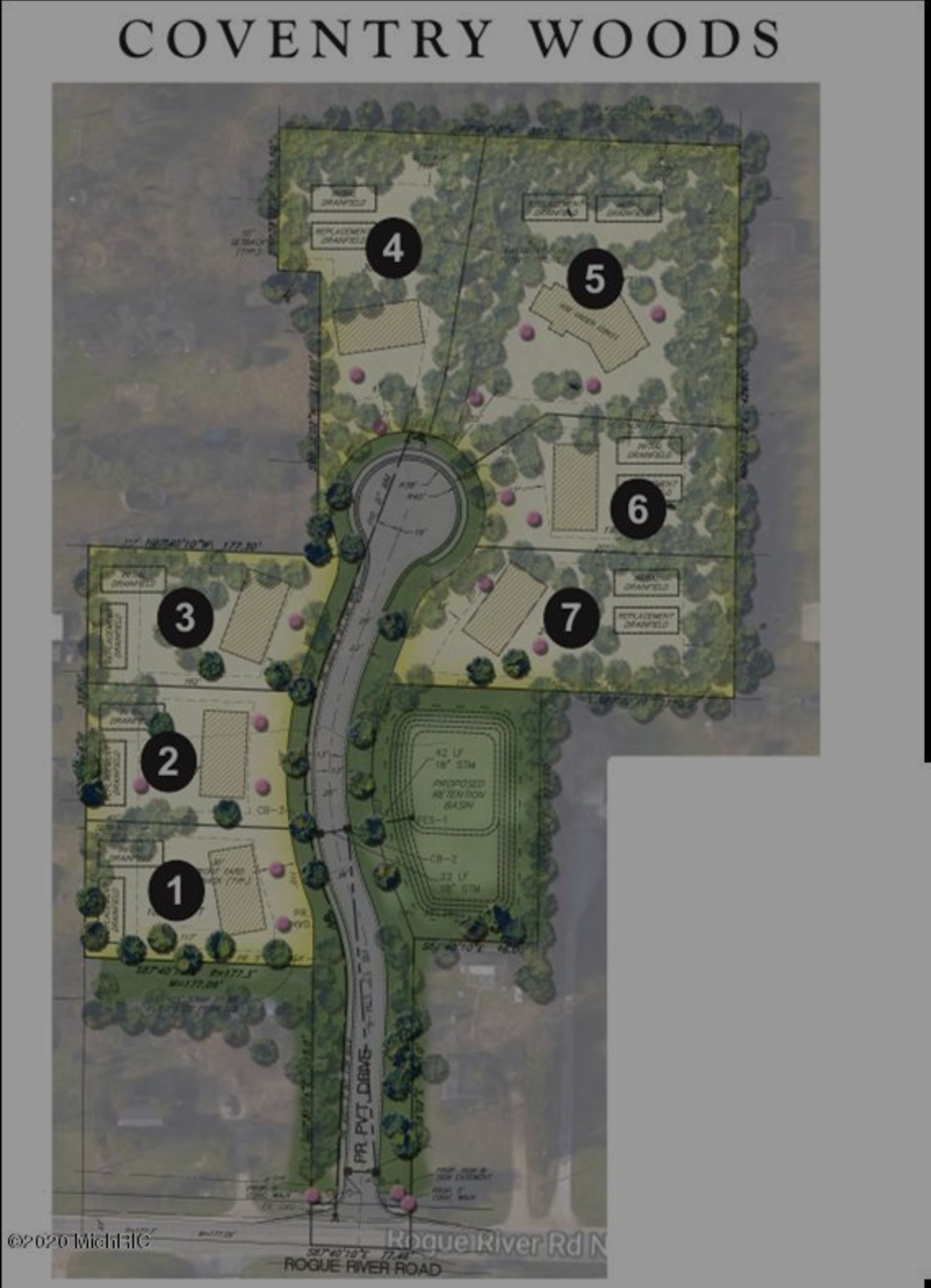 6069 Coventry Woods Lot #2, Belmont, MI 49306