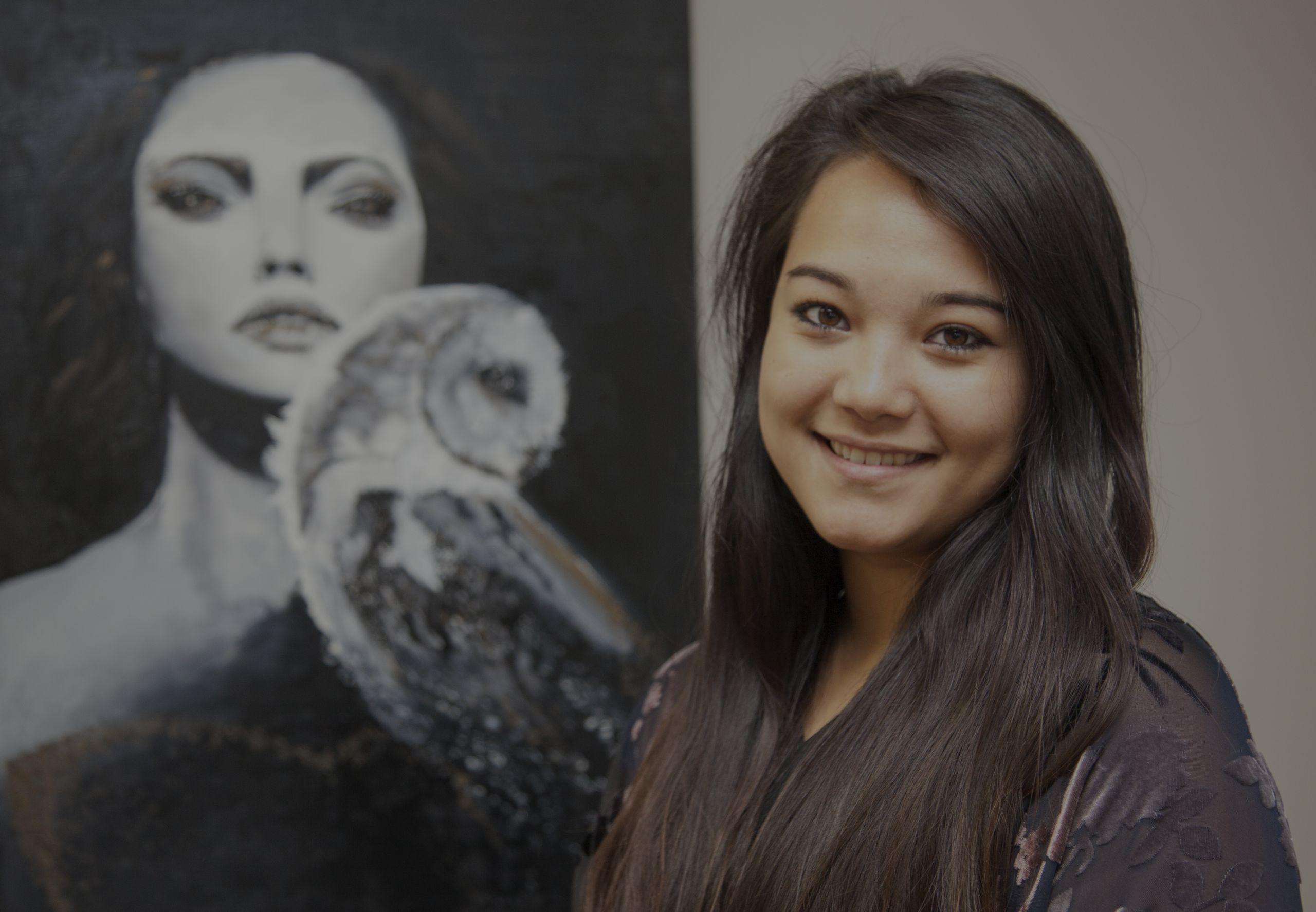 Ashley Bayne Student, Local Charlotte Artist