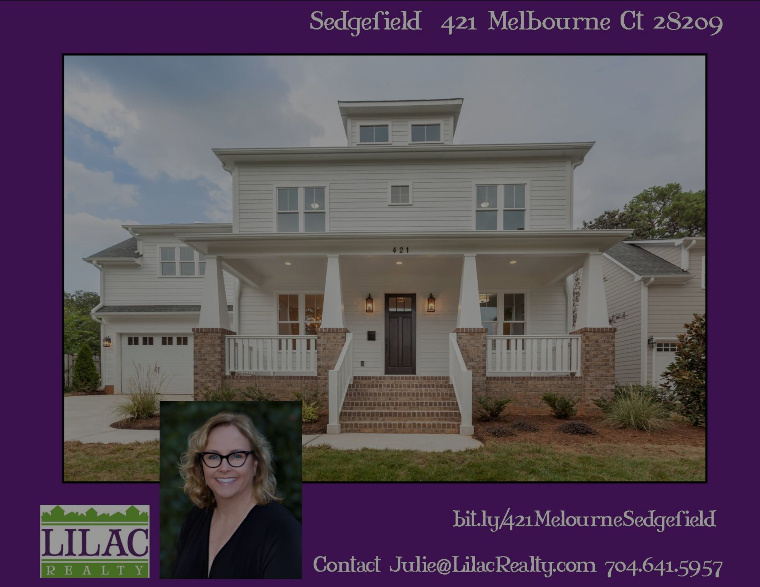 Sedgefield 421 Melbourne Ct New Construction