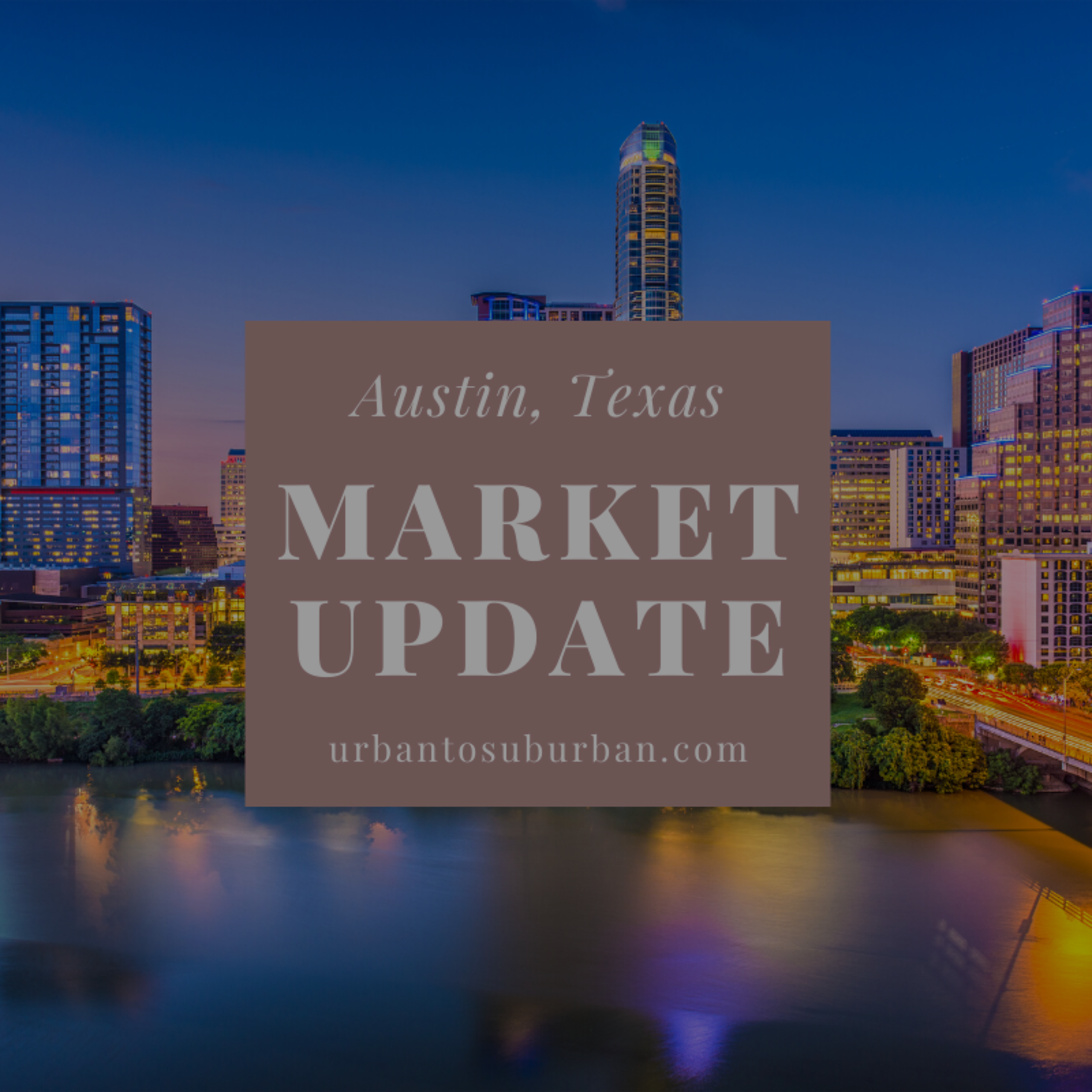 Austin Texas Housing Report for April 2020