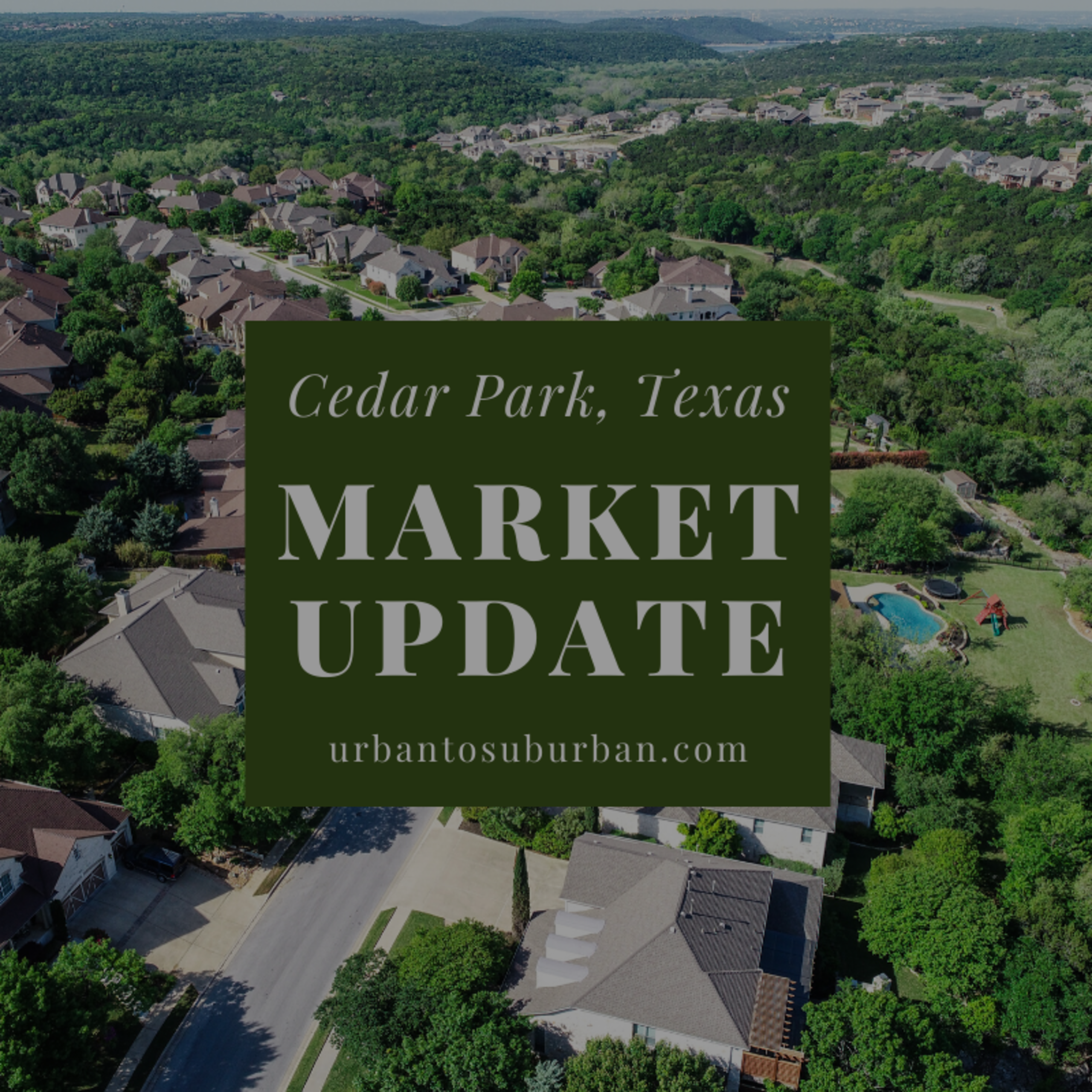 Cedar Park Texas Housing Report for April 2020