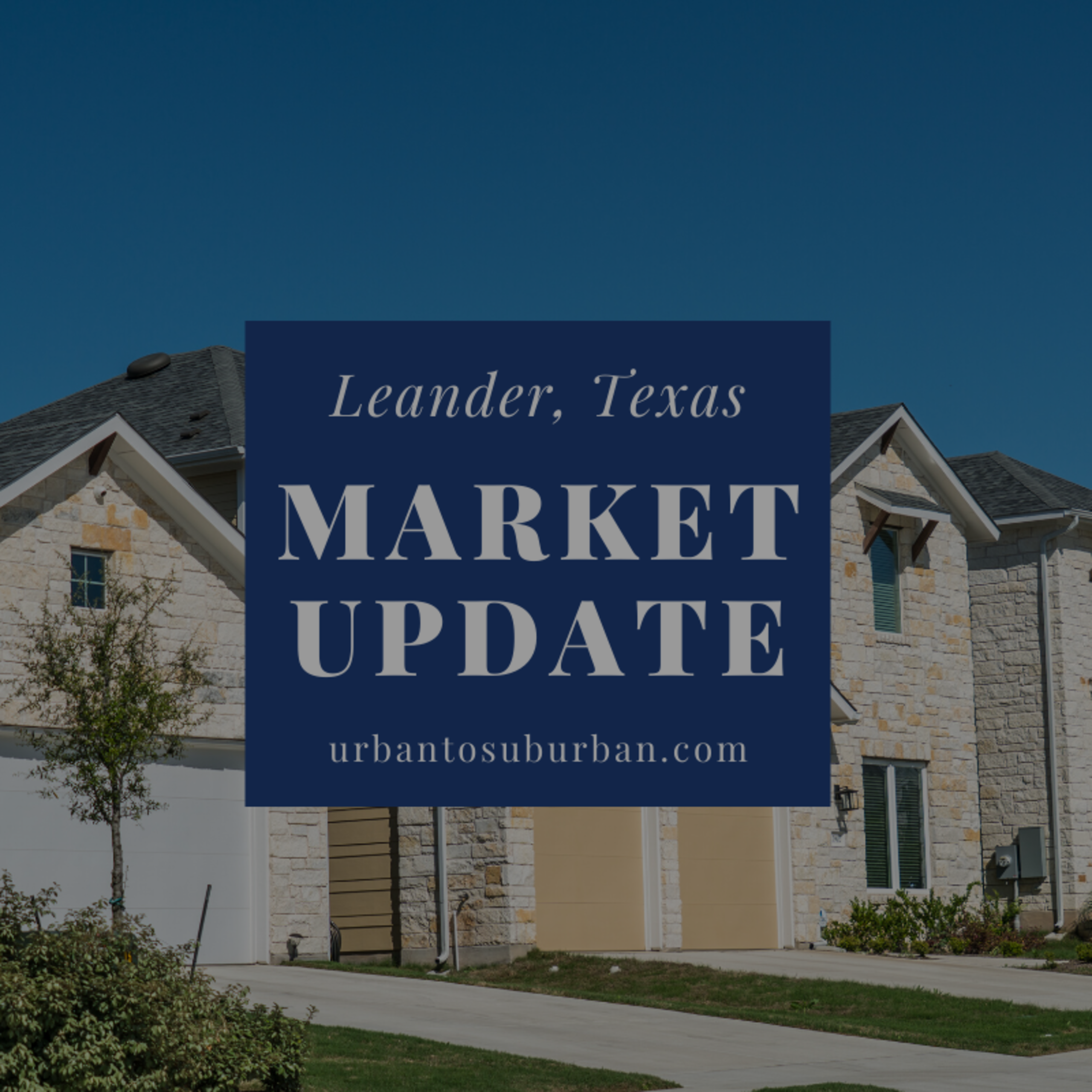Leander Texas Housing Report for April 2020