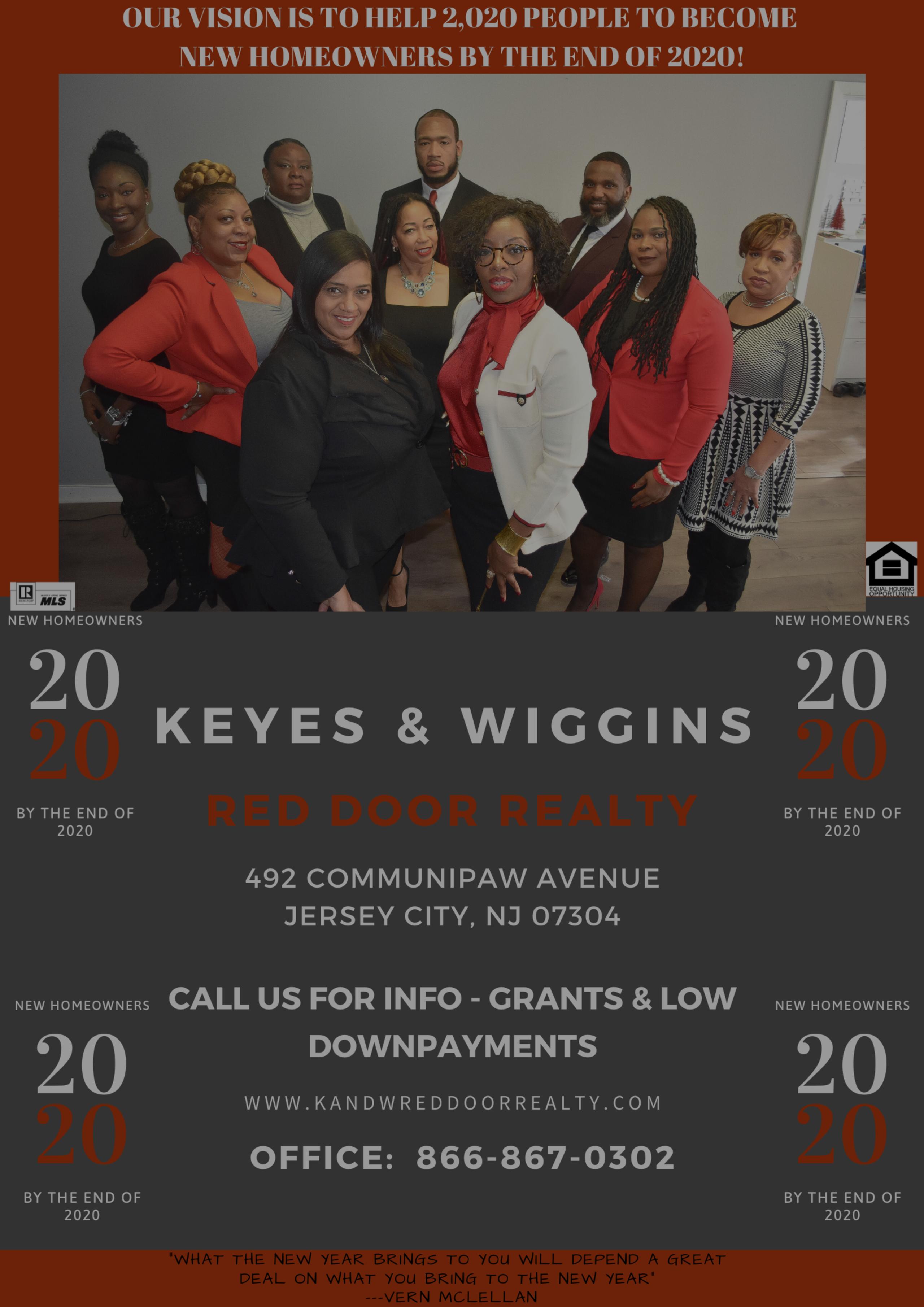 Keyes & Wiggins 2020 Vision!