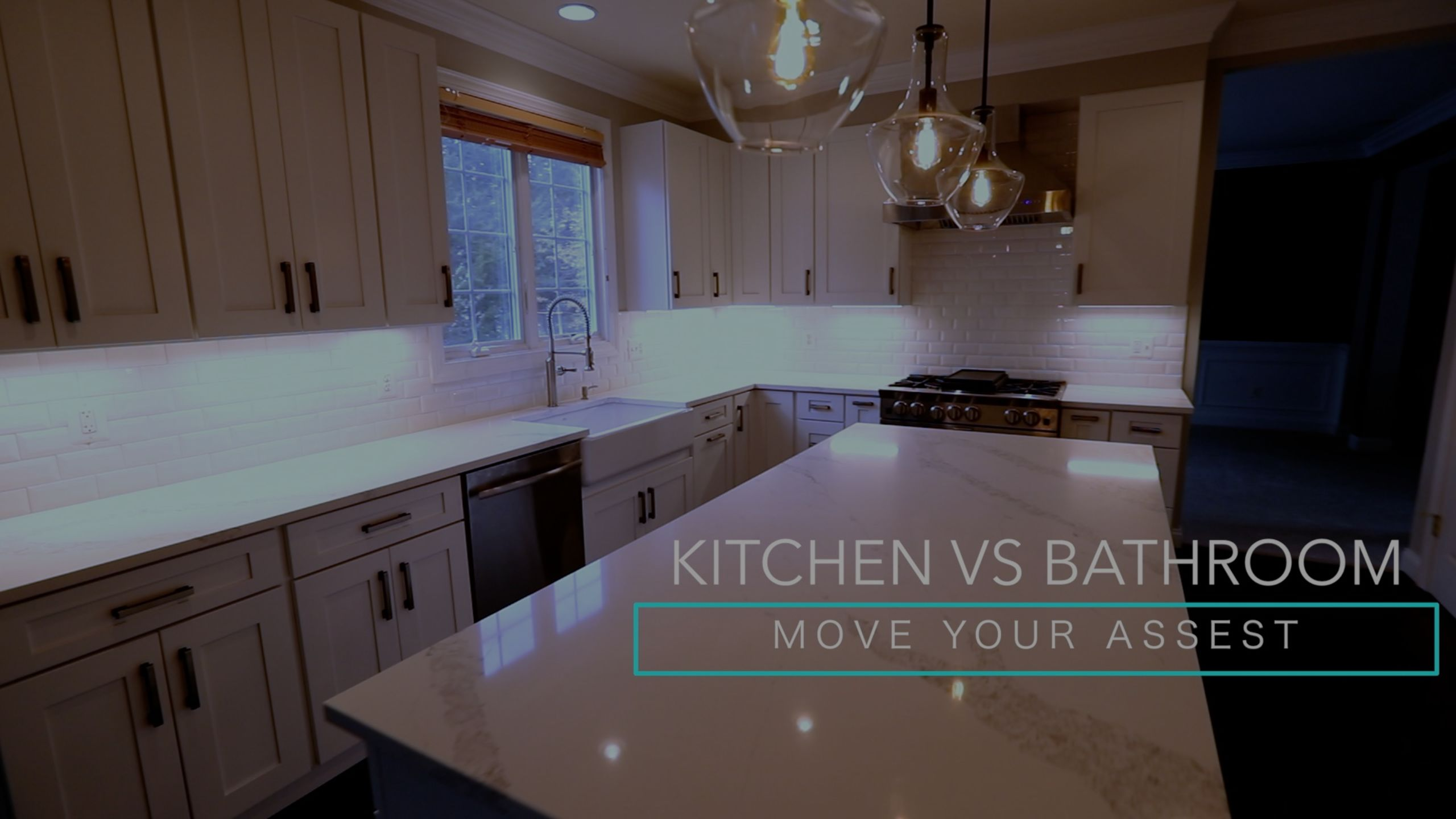 Updating Kitchen vs Bathroom
