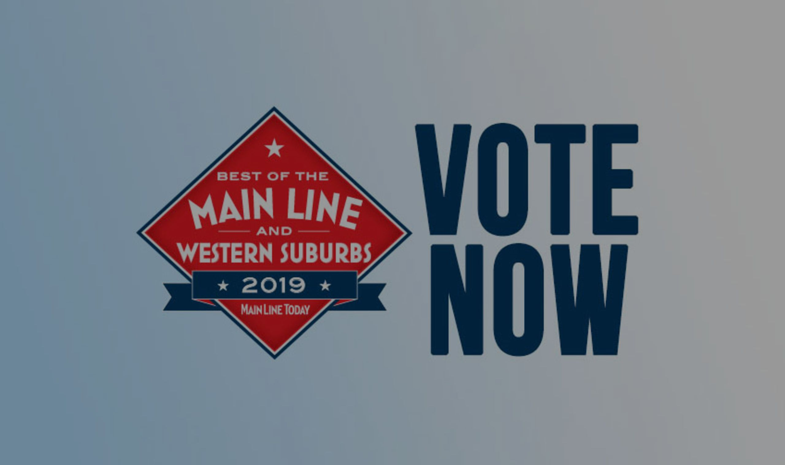 Vote for Us as Best of the Main Line!