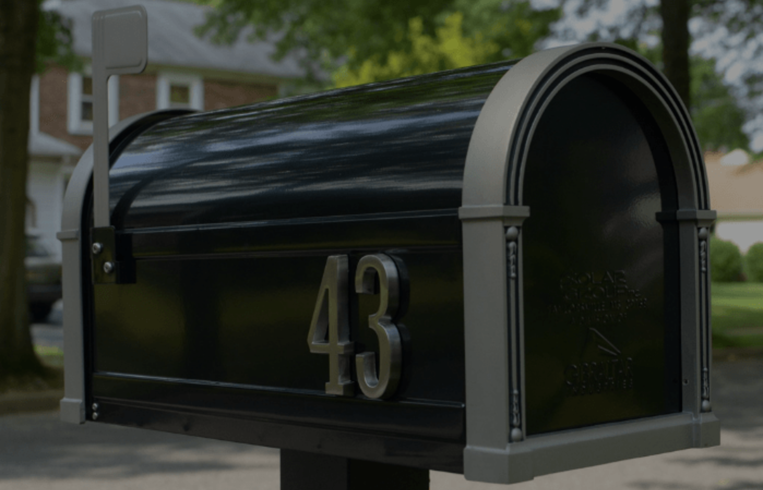 Master Mailbox Curb Appeal