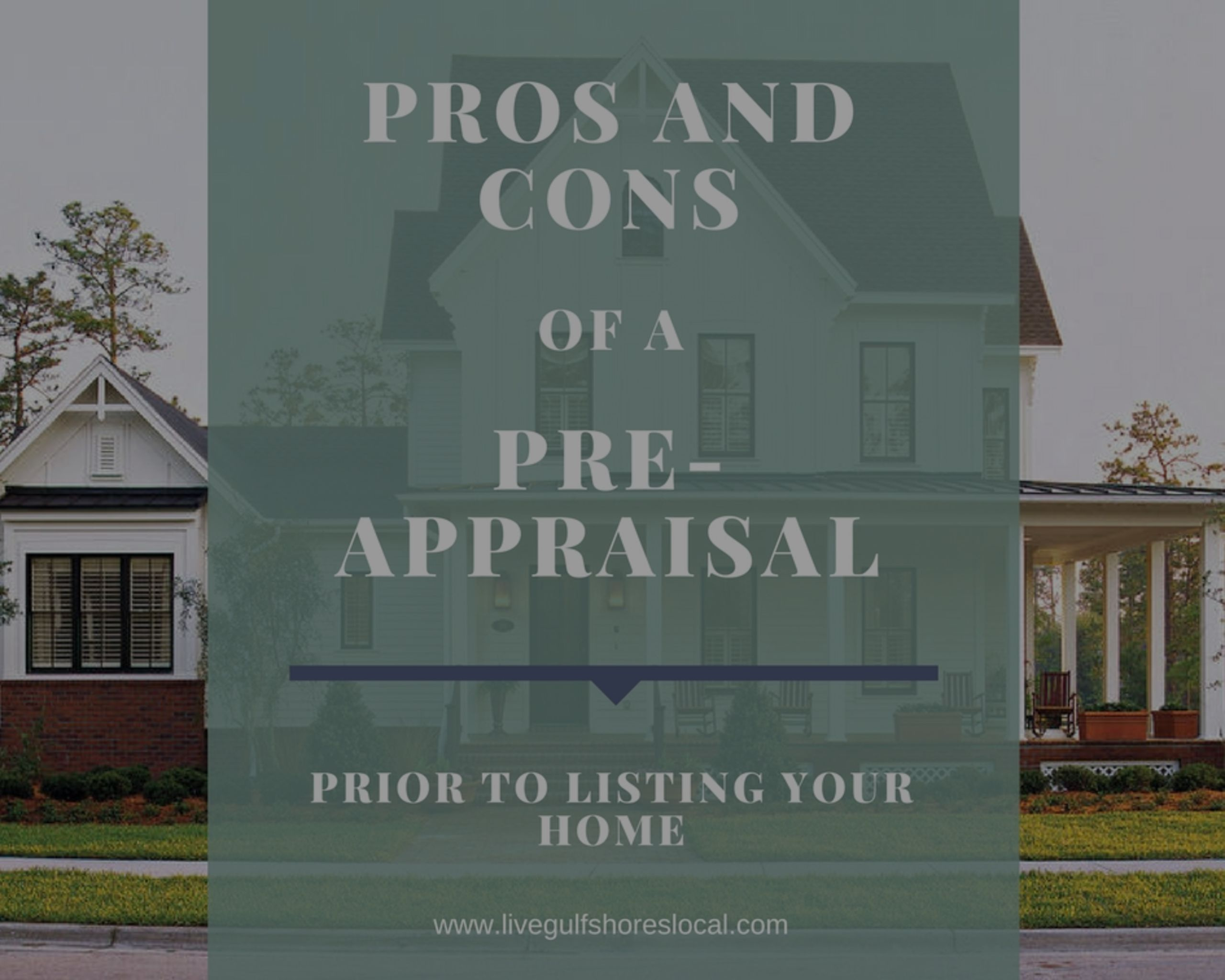 Pros and Cons of a Pre-Appraisal
