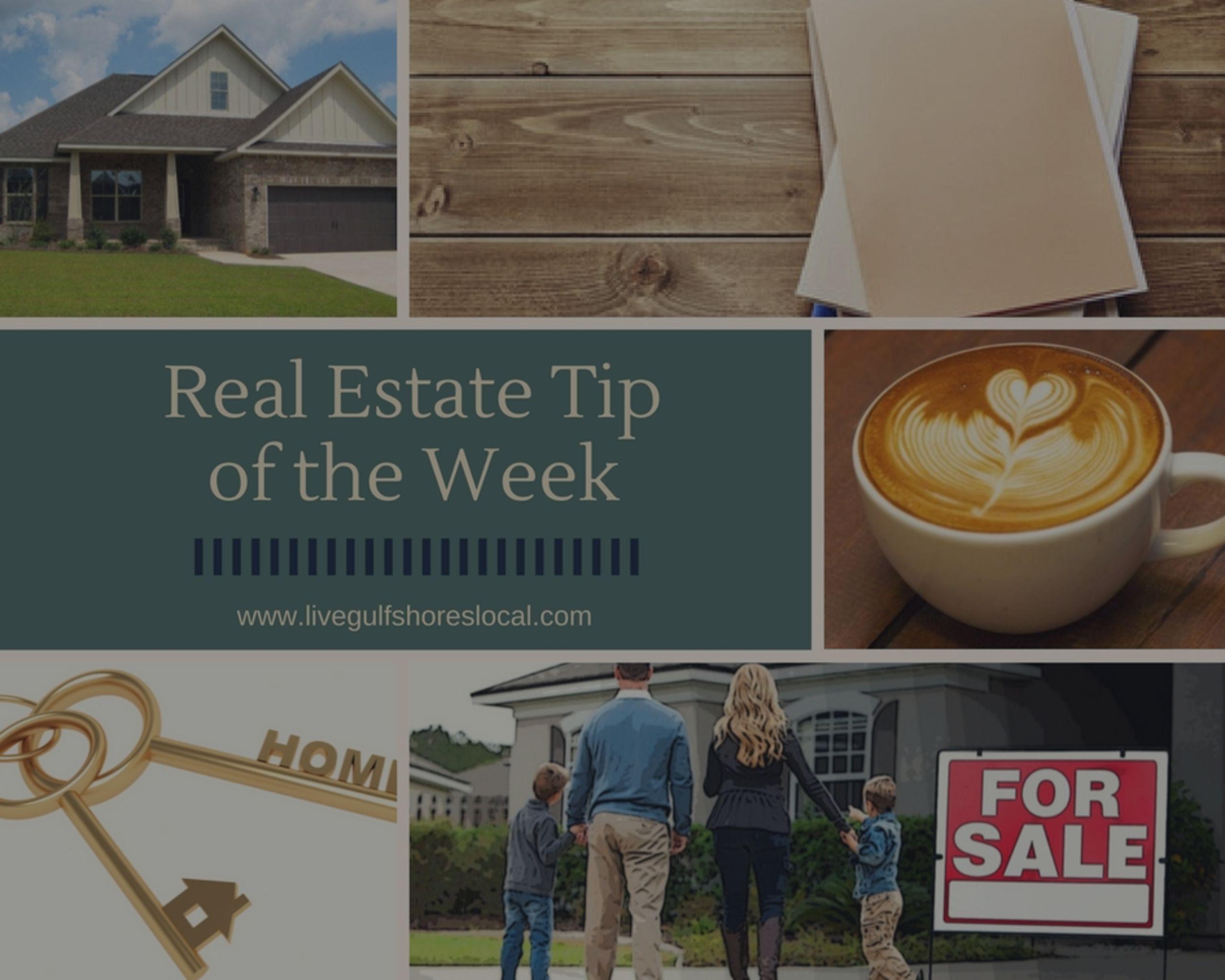 Real Estate Tip of the Week – Seller Getting Pre-Appraisal