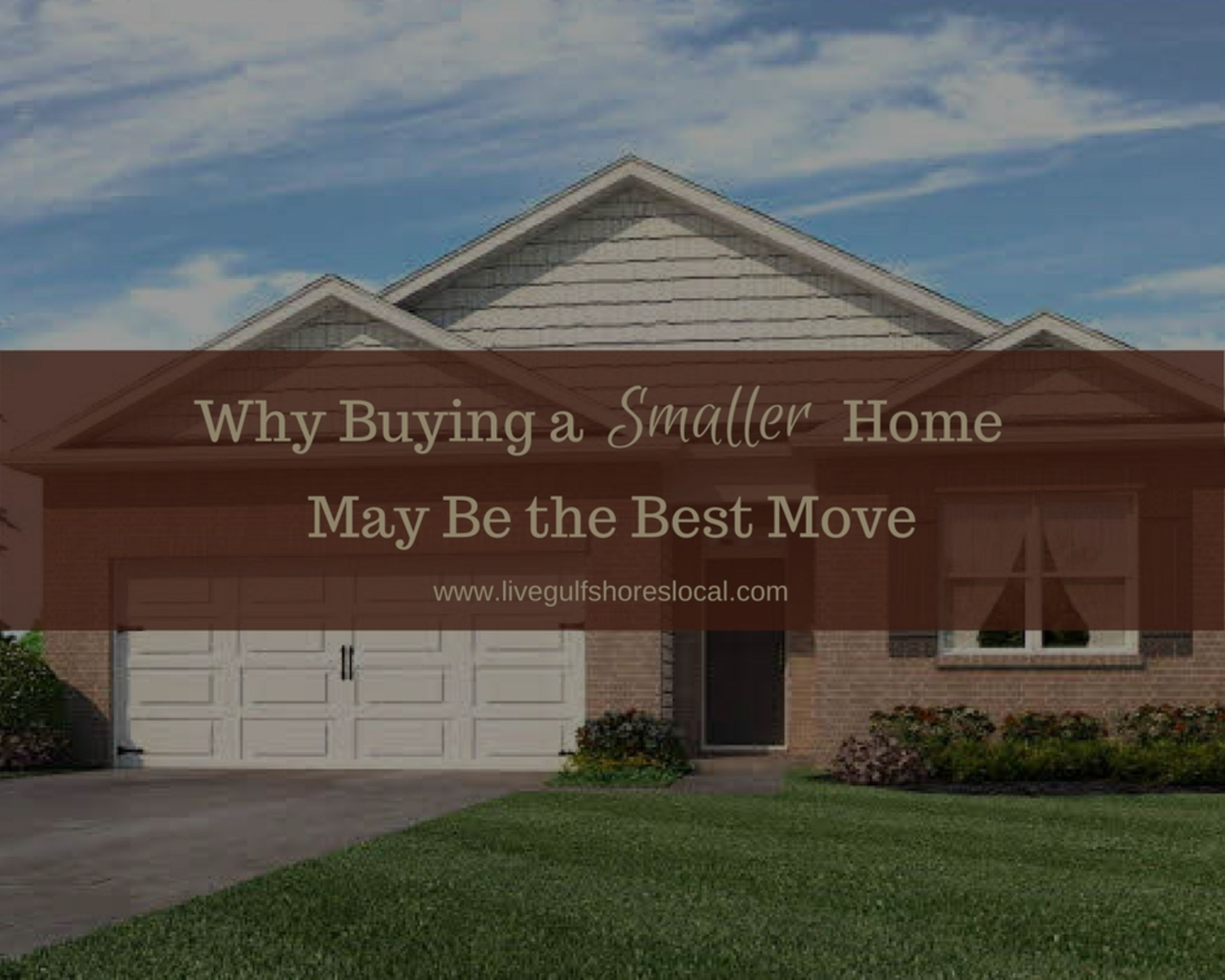 Why Buying a Smaller Home May Be the Best Move
