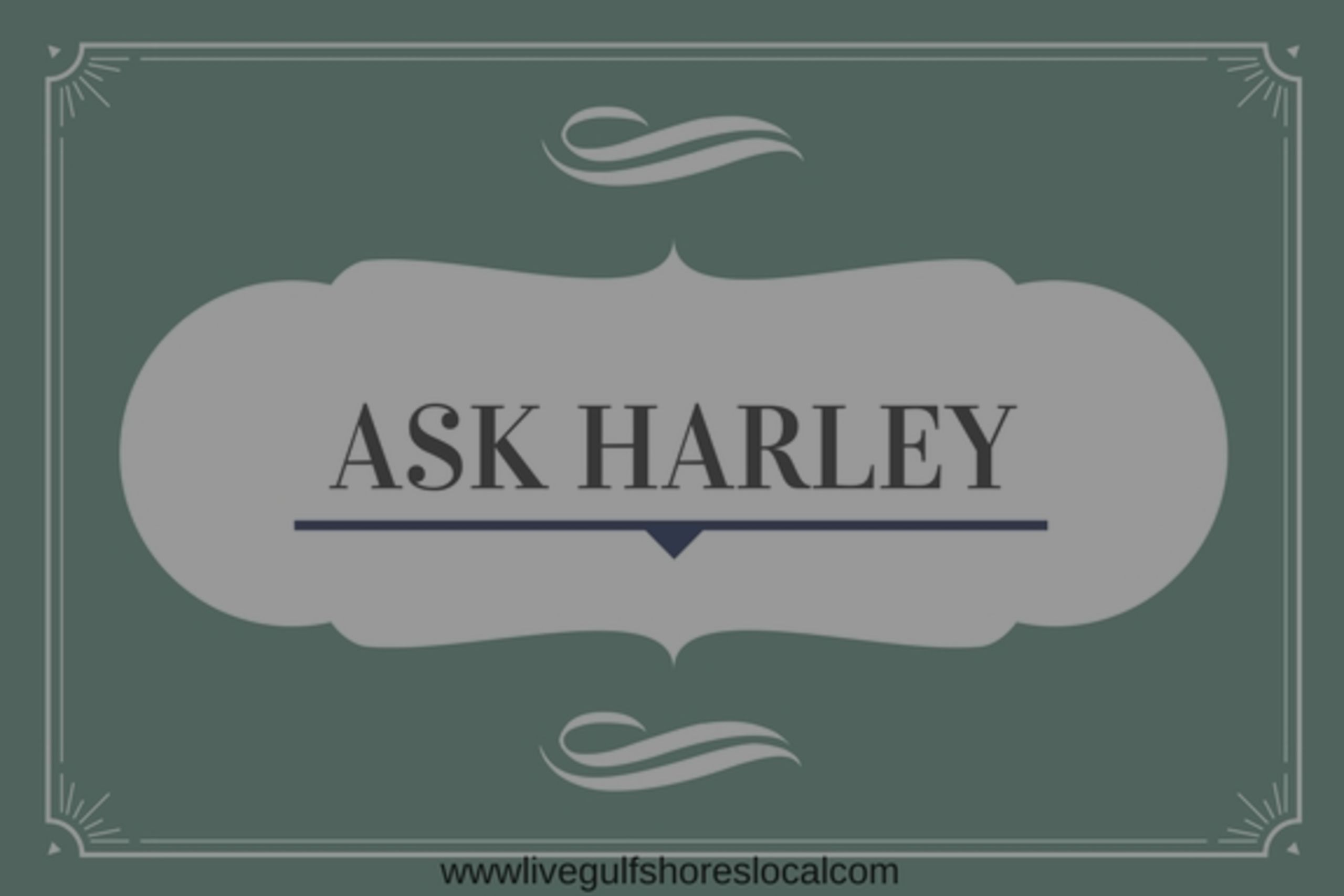 Ask Harley:  Fear the Reaper